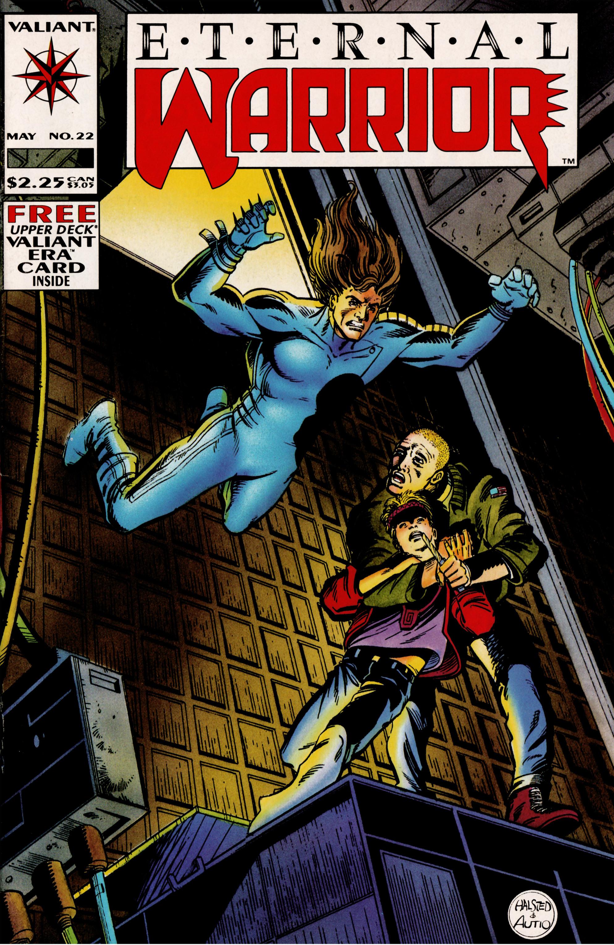 Read online Eternal Warrior (1992) comic -  Issue #22 - 1