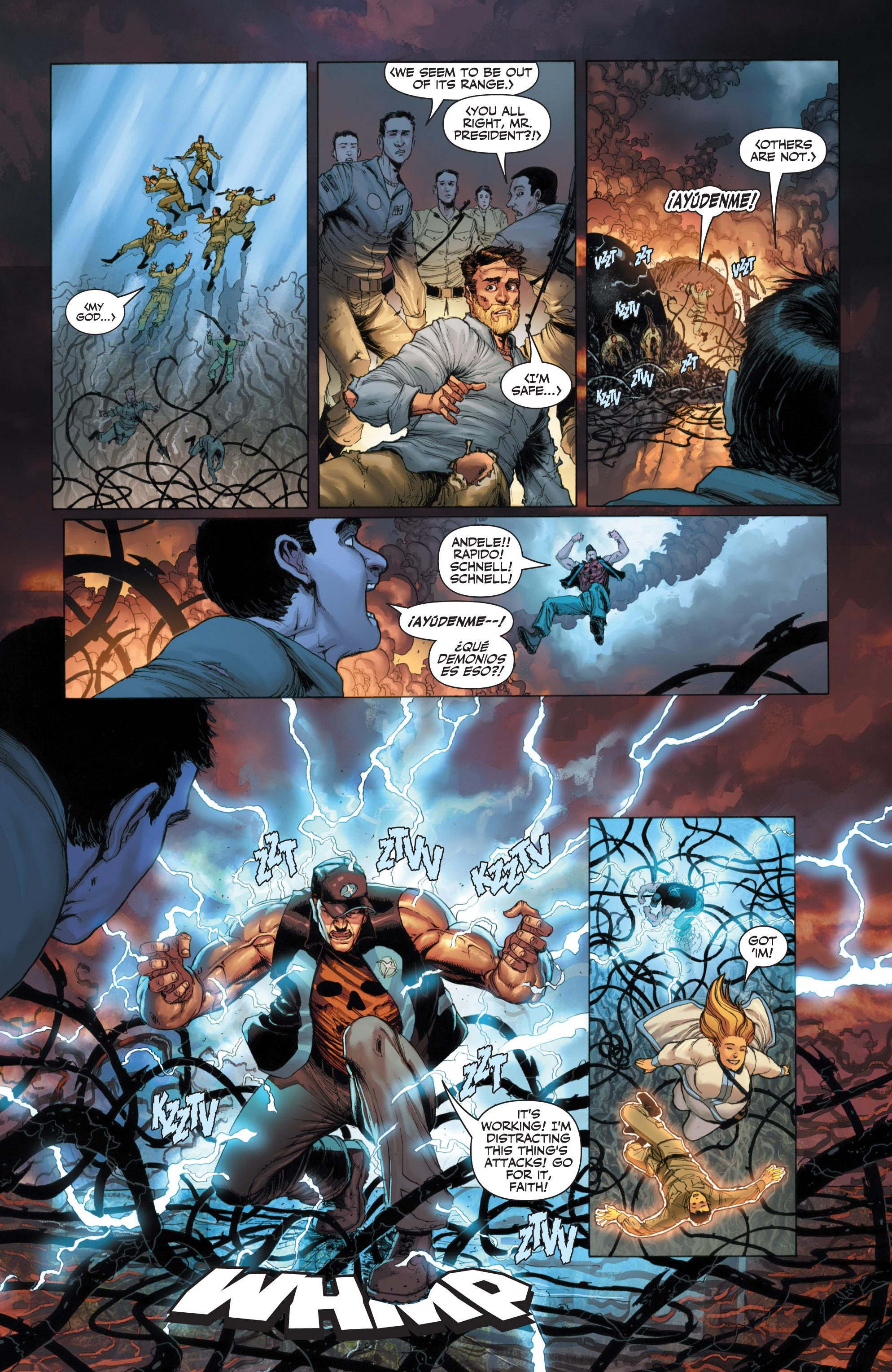 Read online Armor Hunters: Harbinger comic -  Issue # TPB - 33
