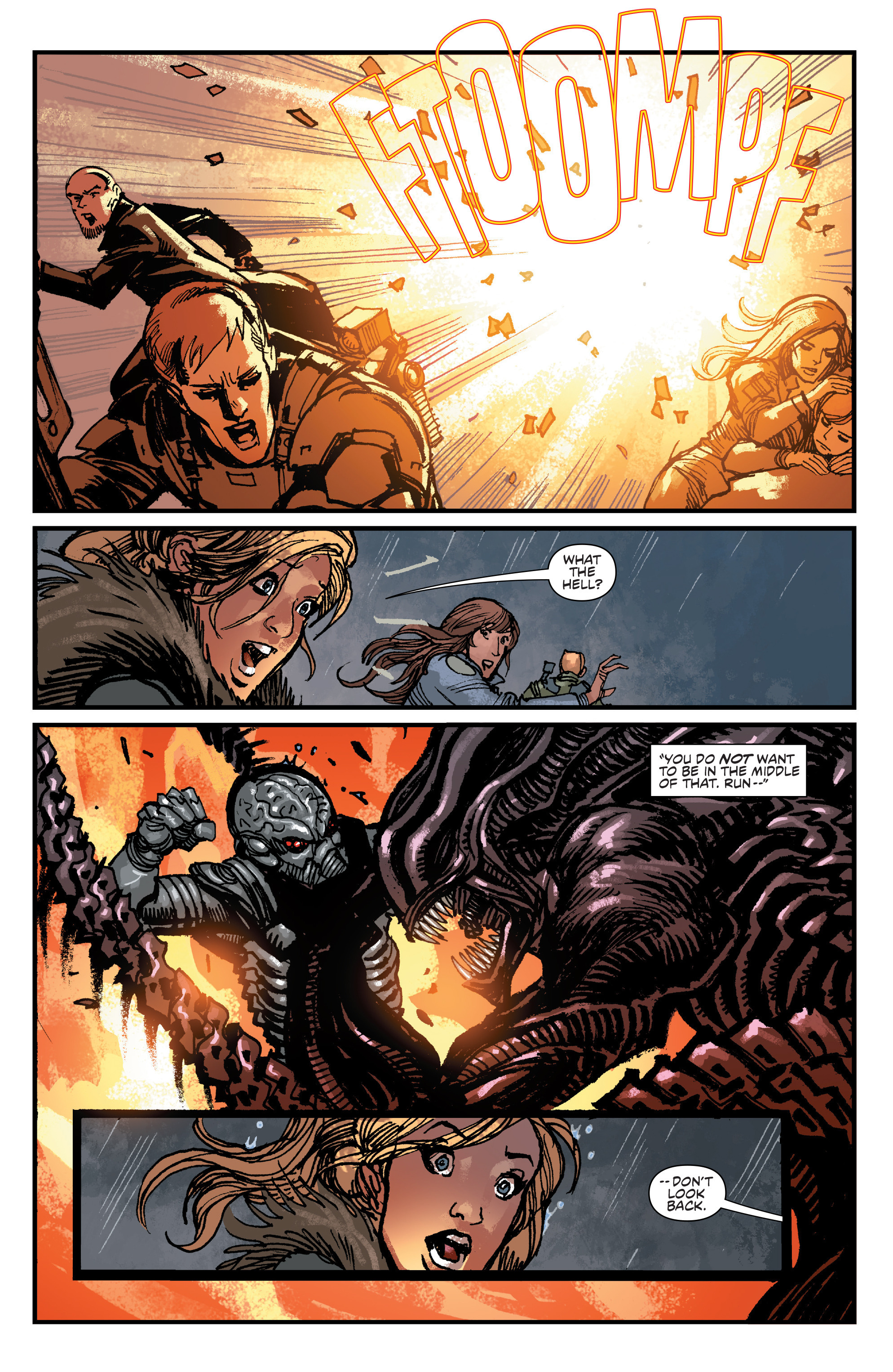 Read online Aliens: Life And Death comic -  Issue #4 - 20