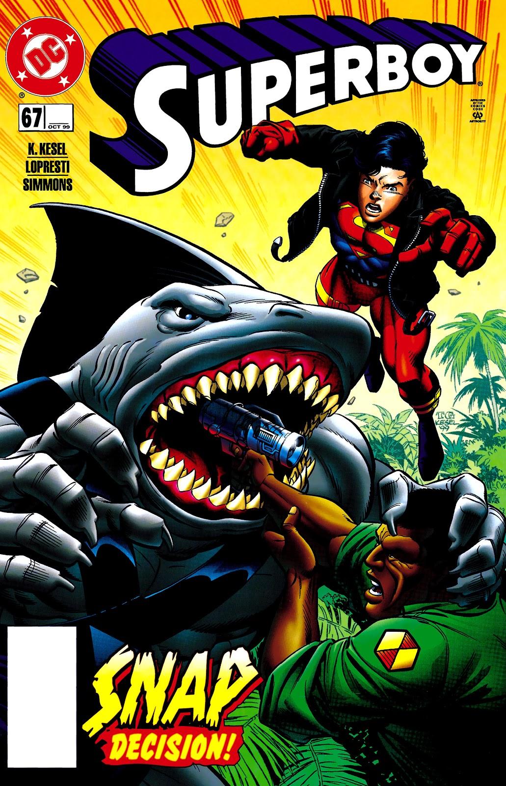 Superboy (1994) 67 Page 1