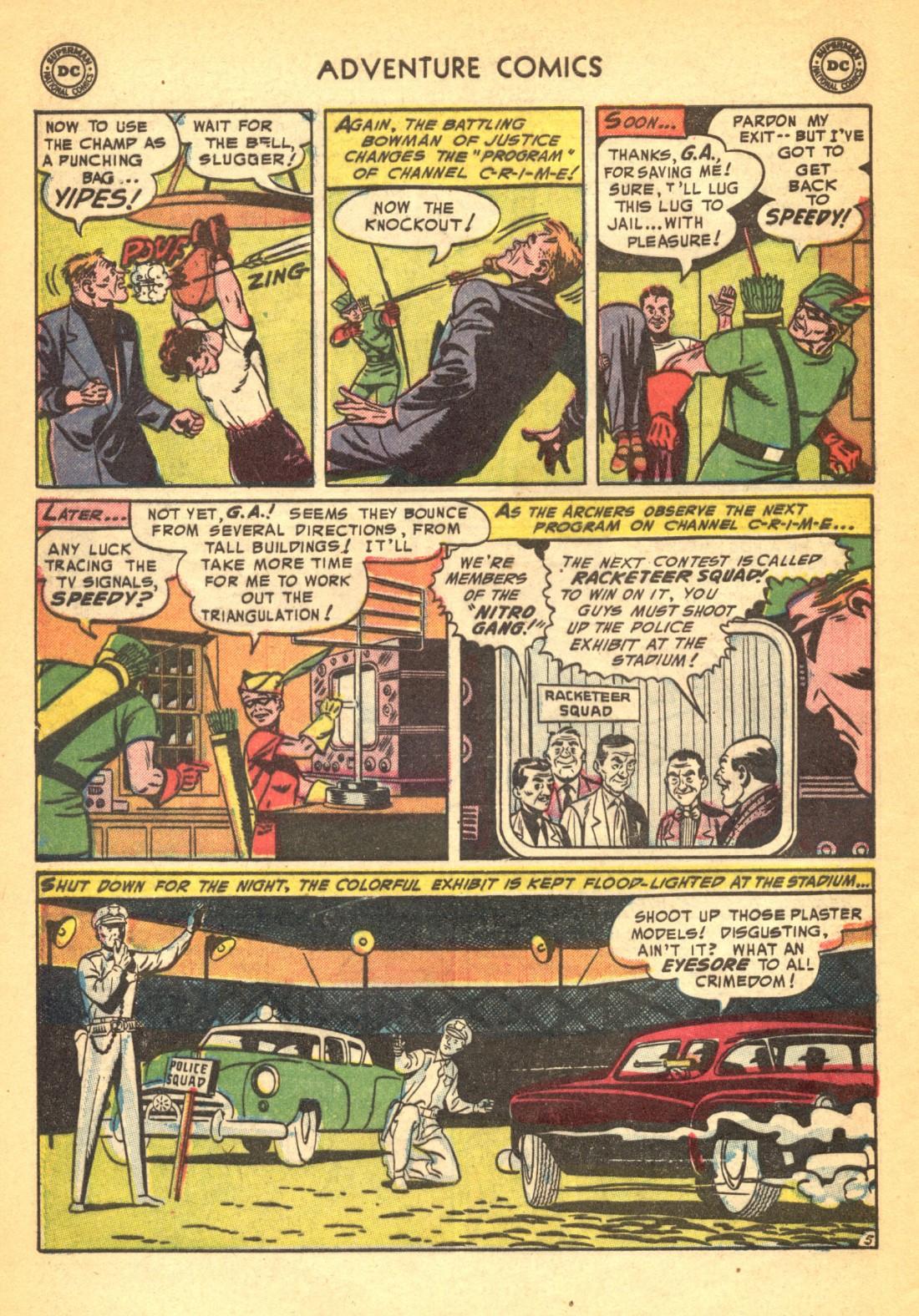 Read online Adventure Comics (1938) comic -  Issue #202 - 38