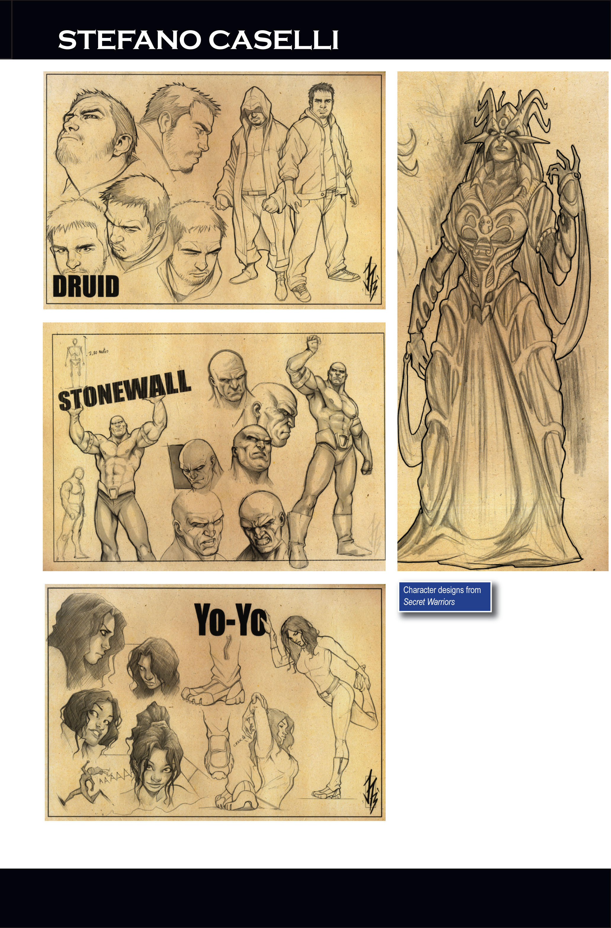 Read online Secret Warriors comic -  Issue #1 - 38