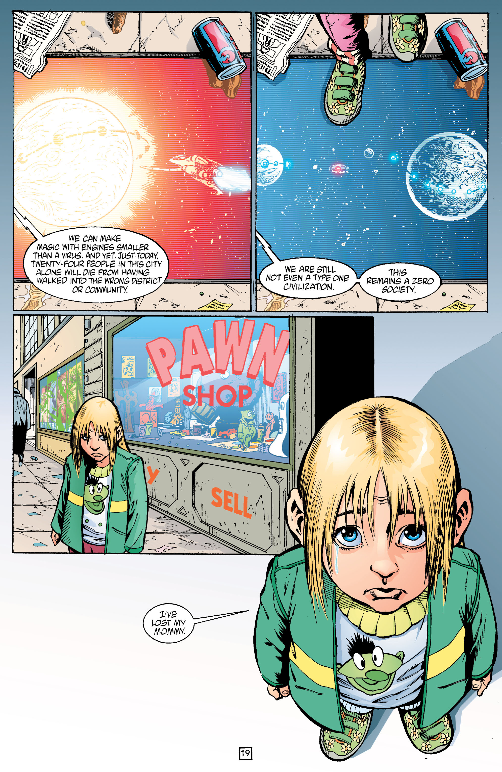 Read online Transmetropolitan comic -  Issue #22 - 20