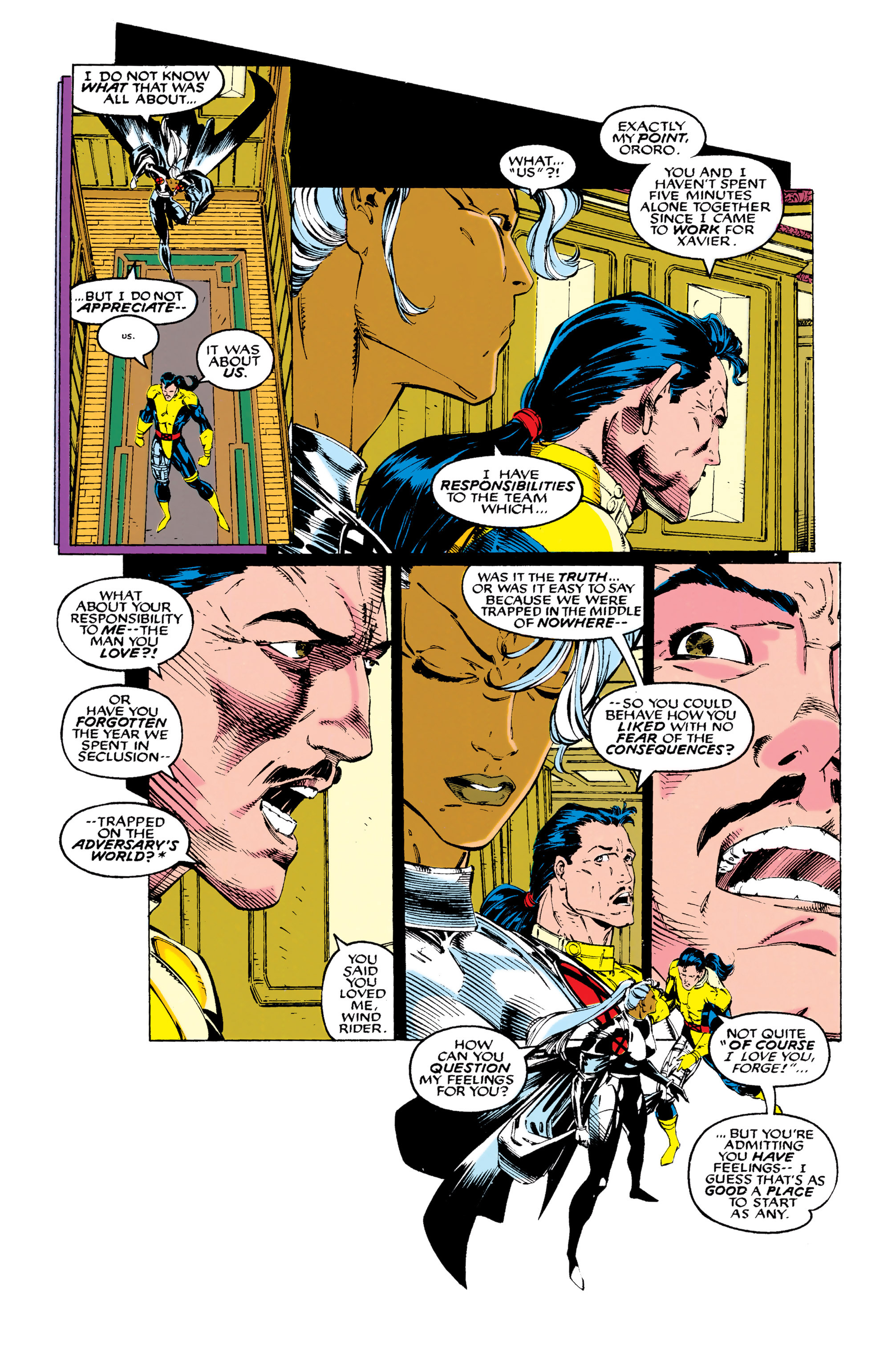 Read online Uncanny X-Men (1963) comic -  Issue #289 - 16