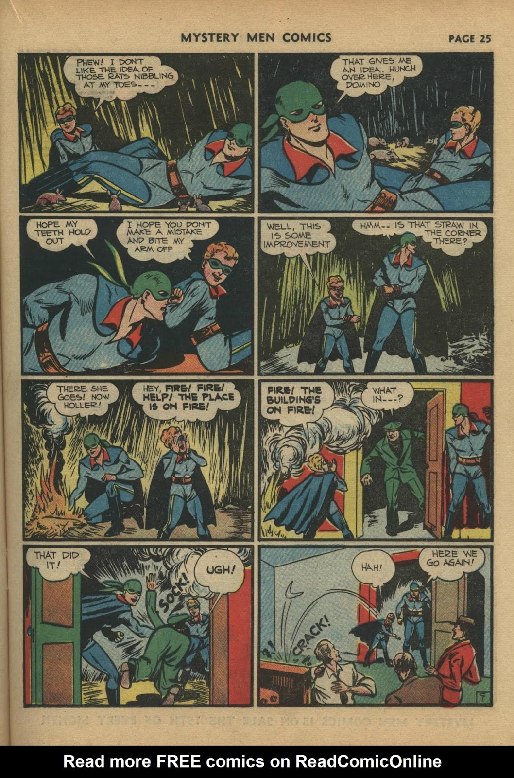 Mystery Men Comics issue 17 - Page 27