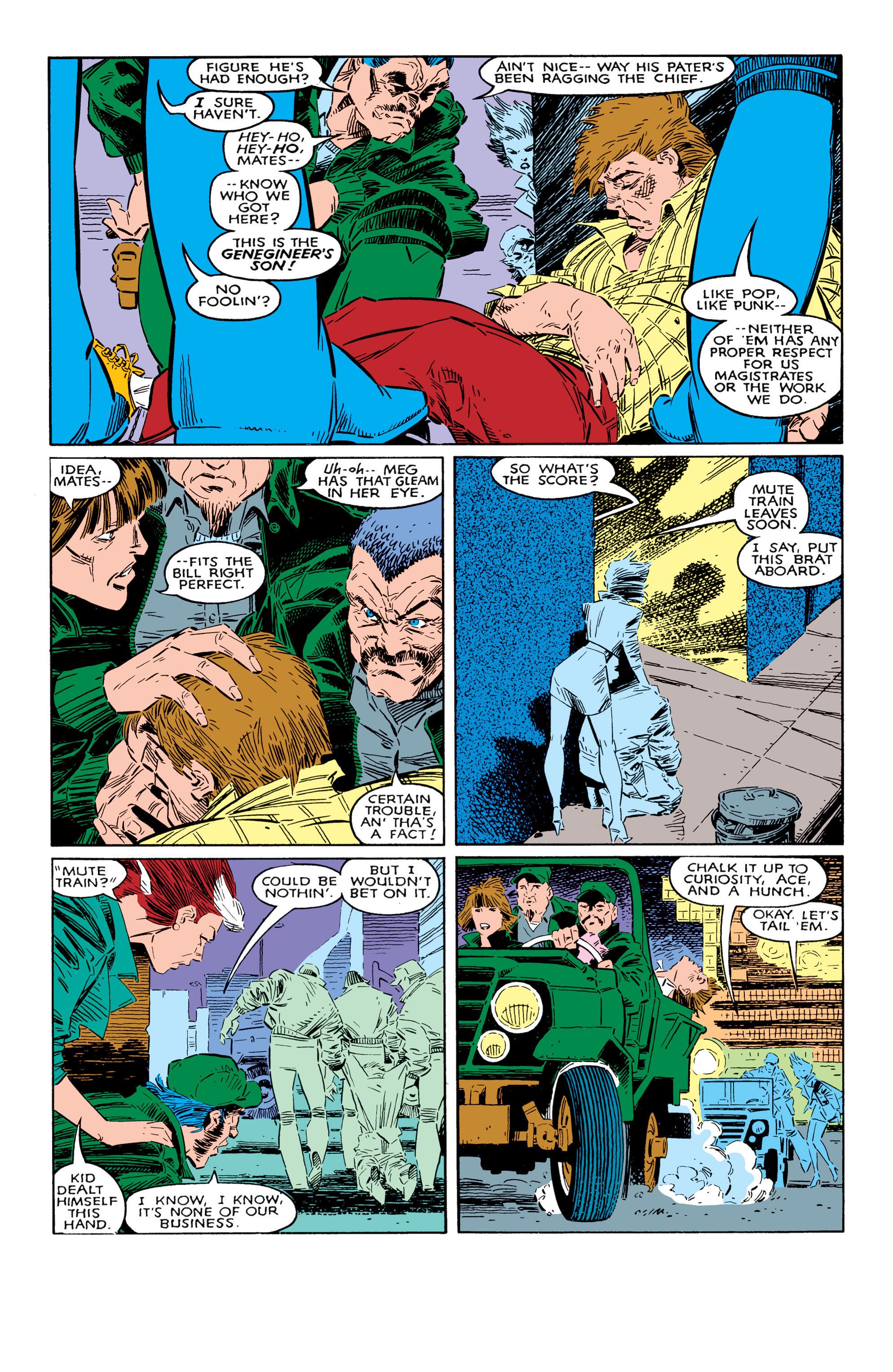 Read online Uncanny X-Men (1963) comic -  Issue #237 - 11