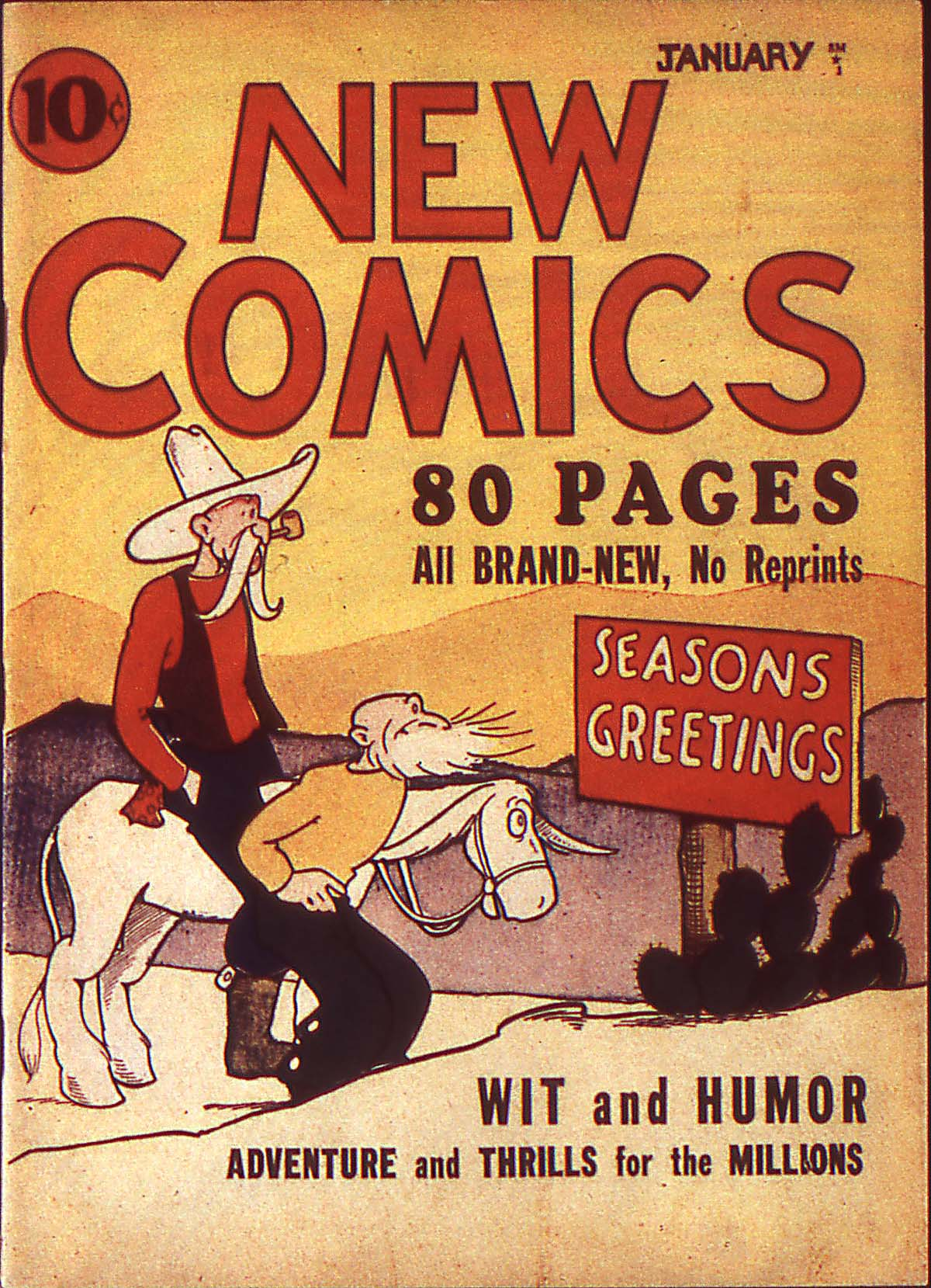 Read online Adventure Comics (1938) comic -  Issue #2 - 1