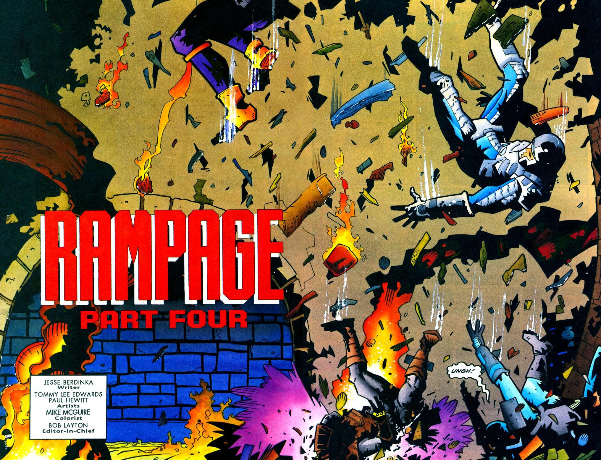 Read online Secret Weapons comic -  Issue #21 - 3
