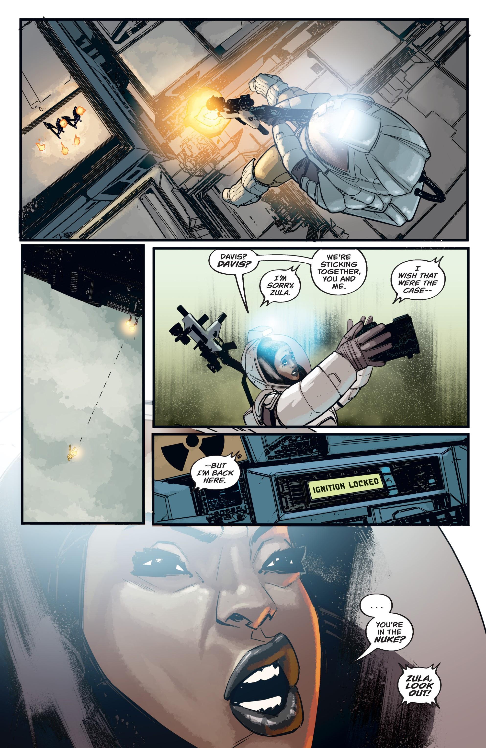 Read online Aliens: Resistance comic -  Issue # _TPB - 47