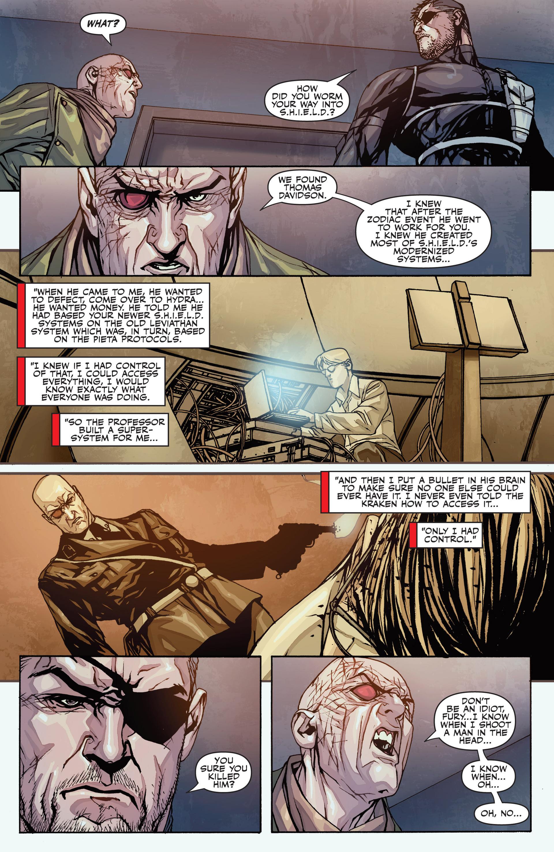 Read online Secret Warriors comic -  Issue #26 - 23