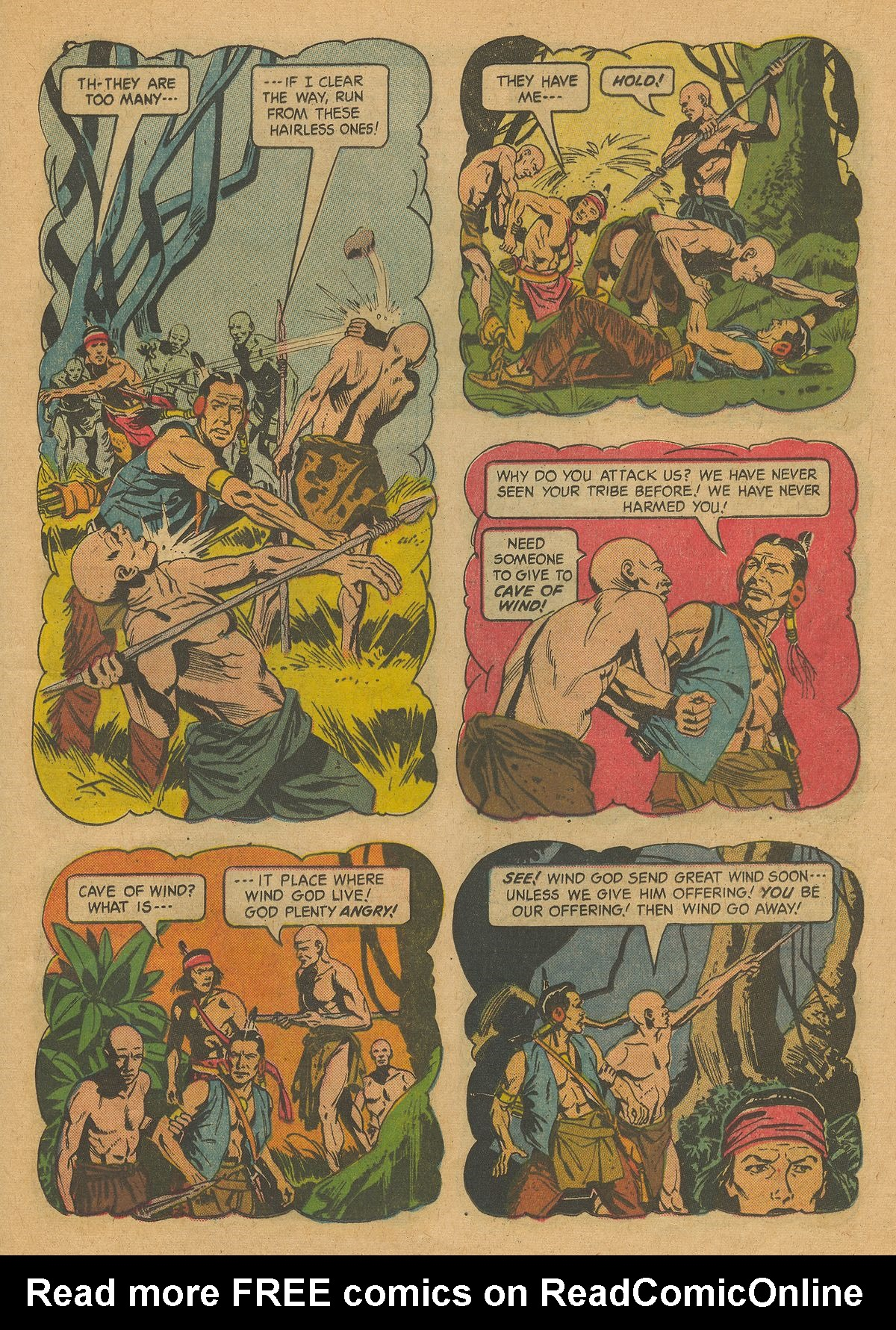 Read online Turok, Son of Stone comic -  Issue #37 - 25