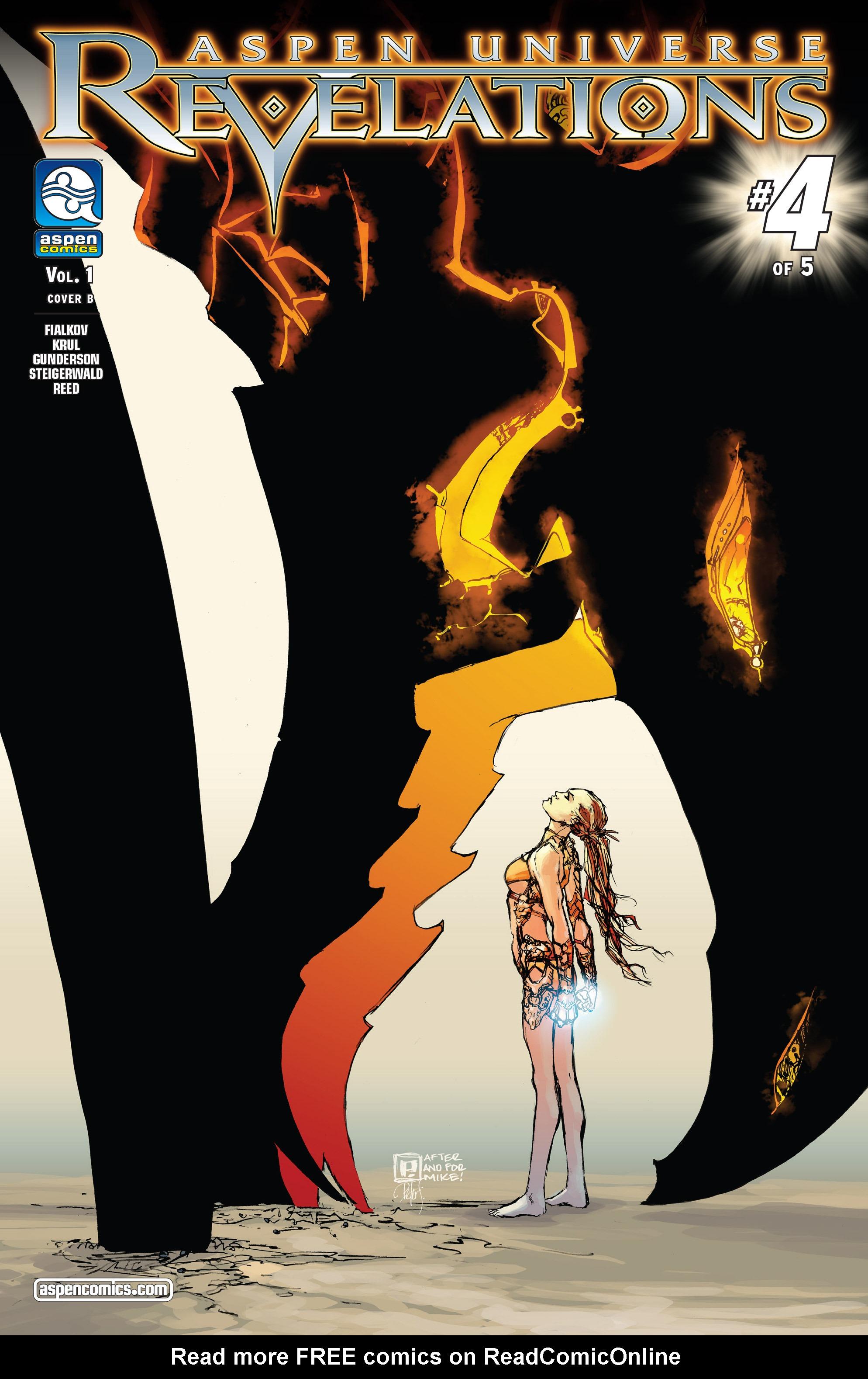 Read online Aspen Universe: Revelations comic -  Issue #4 - 2
