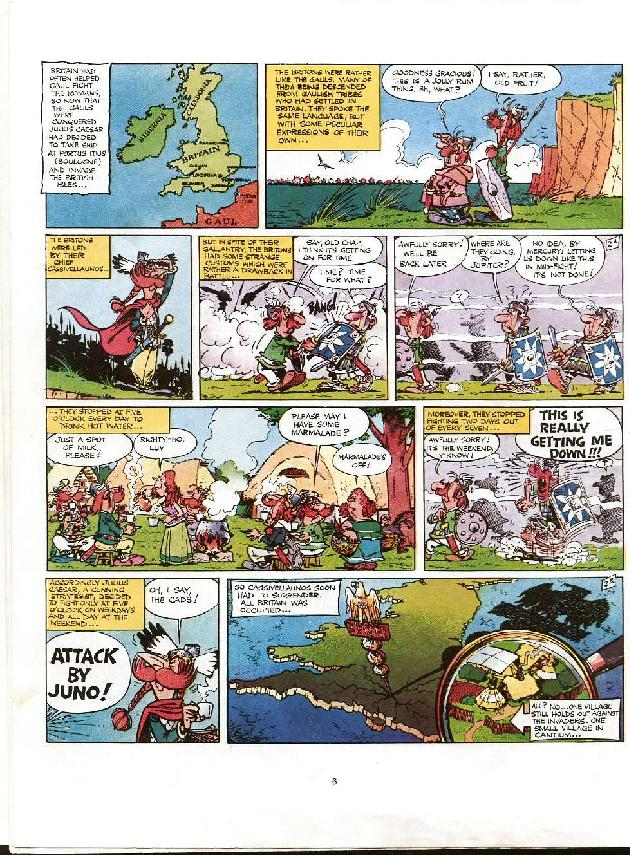 Read online Asterix comic -  Issue #8 - 3
