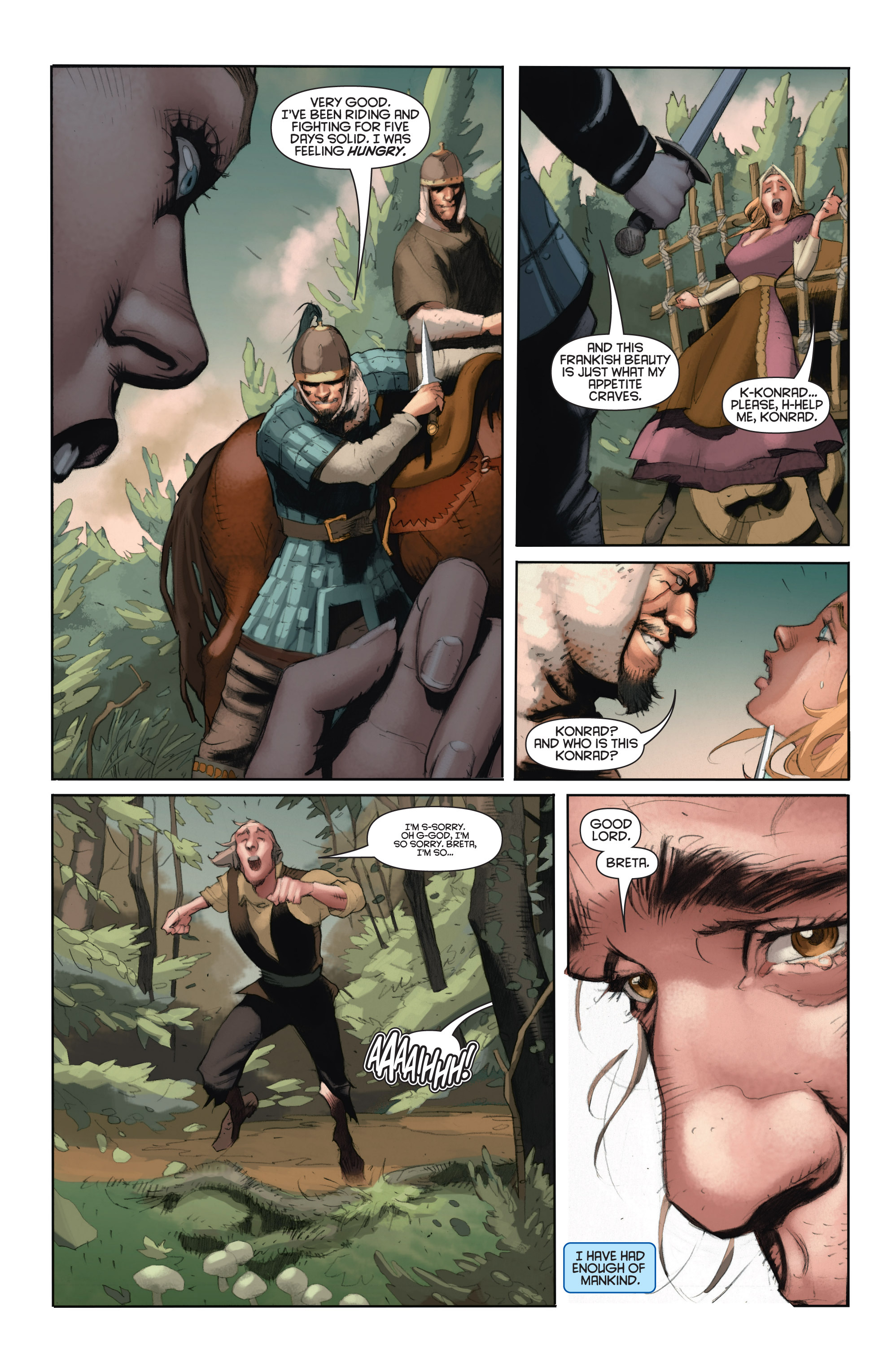 Read online Eternal Warrior: Days of Steel comic -  Issue #1 - 8