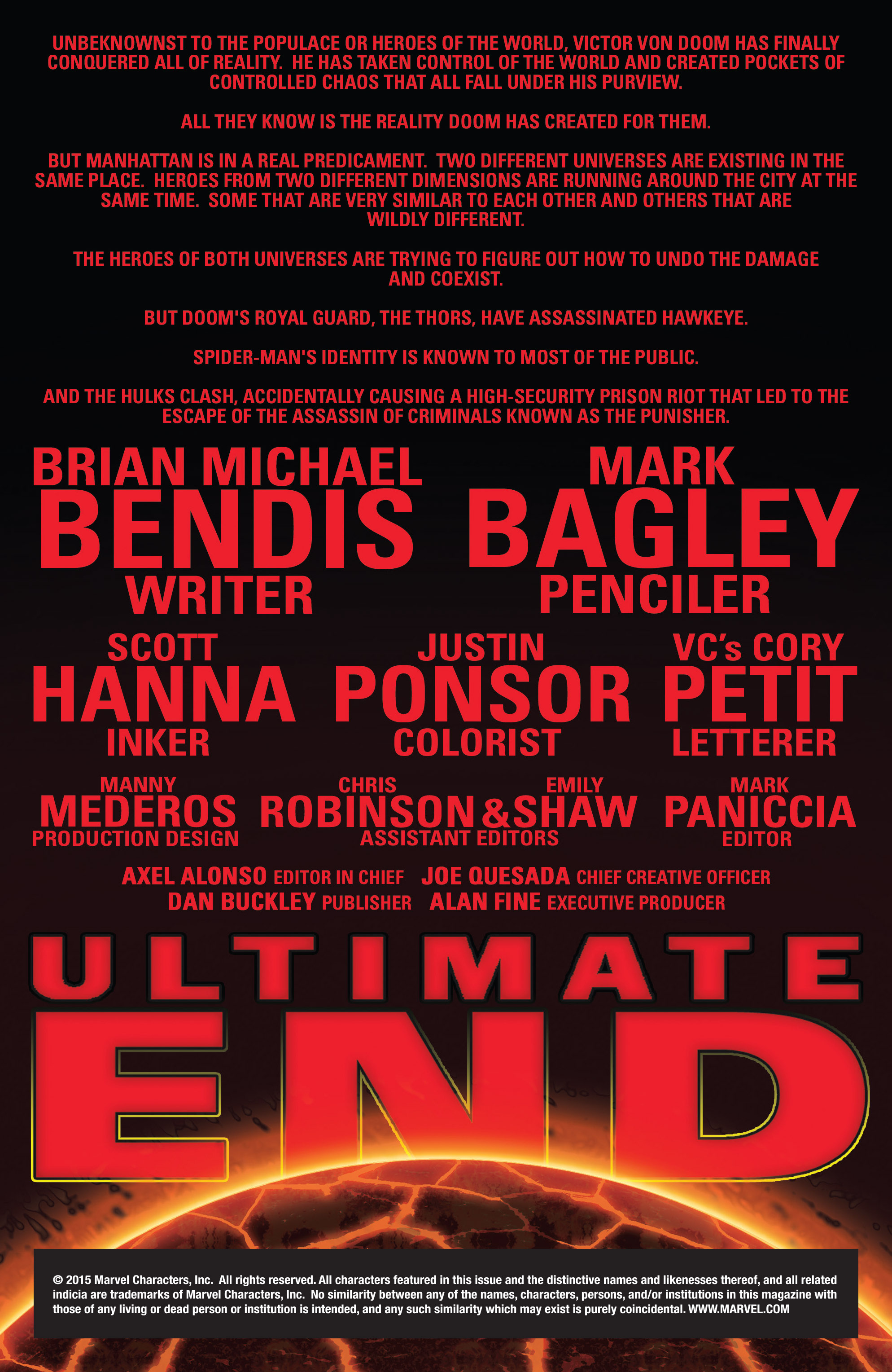 Read online Ultimate End comic -  Issue #3 - 2