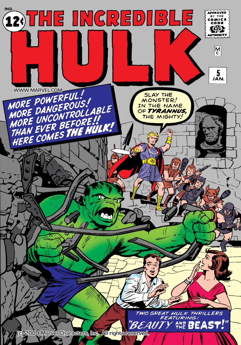 Read online Marvel Masterworks: The Incredible Hulk comic -  Issue # TPB 1 (Part 2) - 4