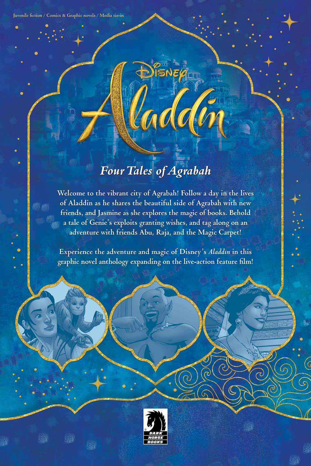 Read online Disney Aladdin: Four Tales of Agrabah comic -  Issue # TPB - 71