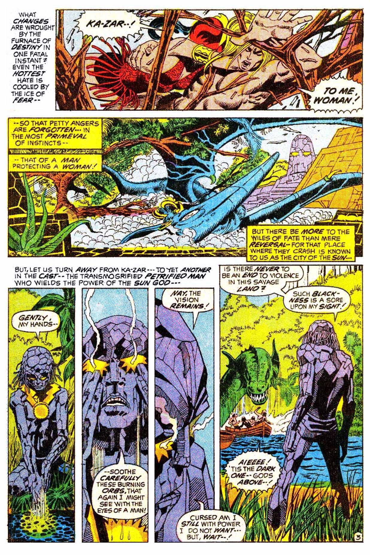 Read online Astonishing Tales (1970) comic -  Issue #5 - 14