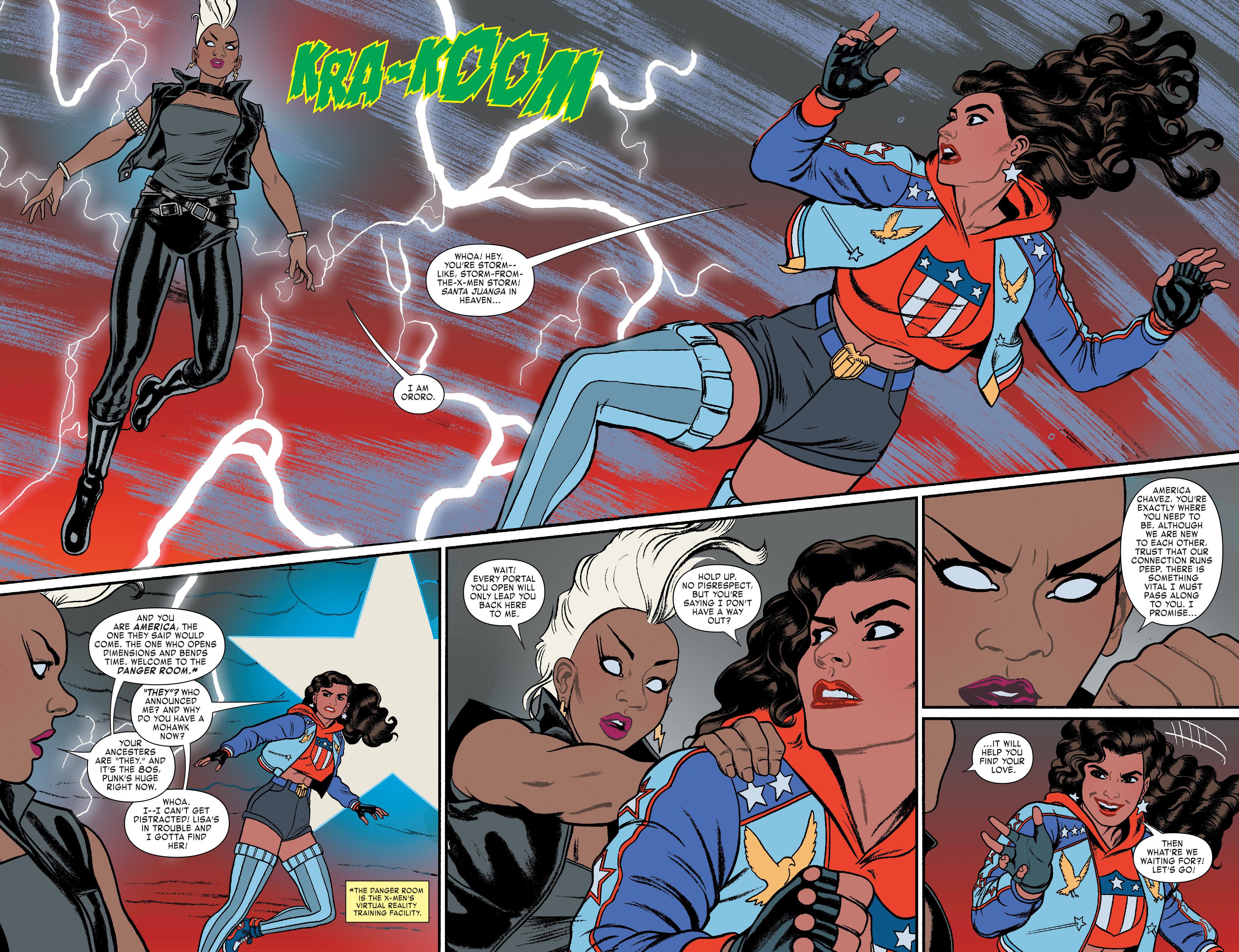 Read online America (2016) comic -  Issue #3 - 8
