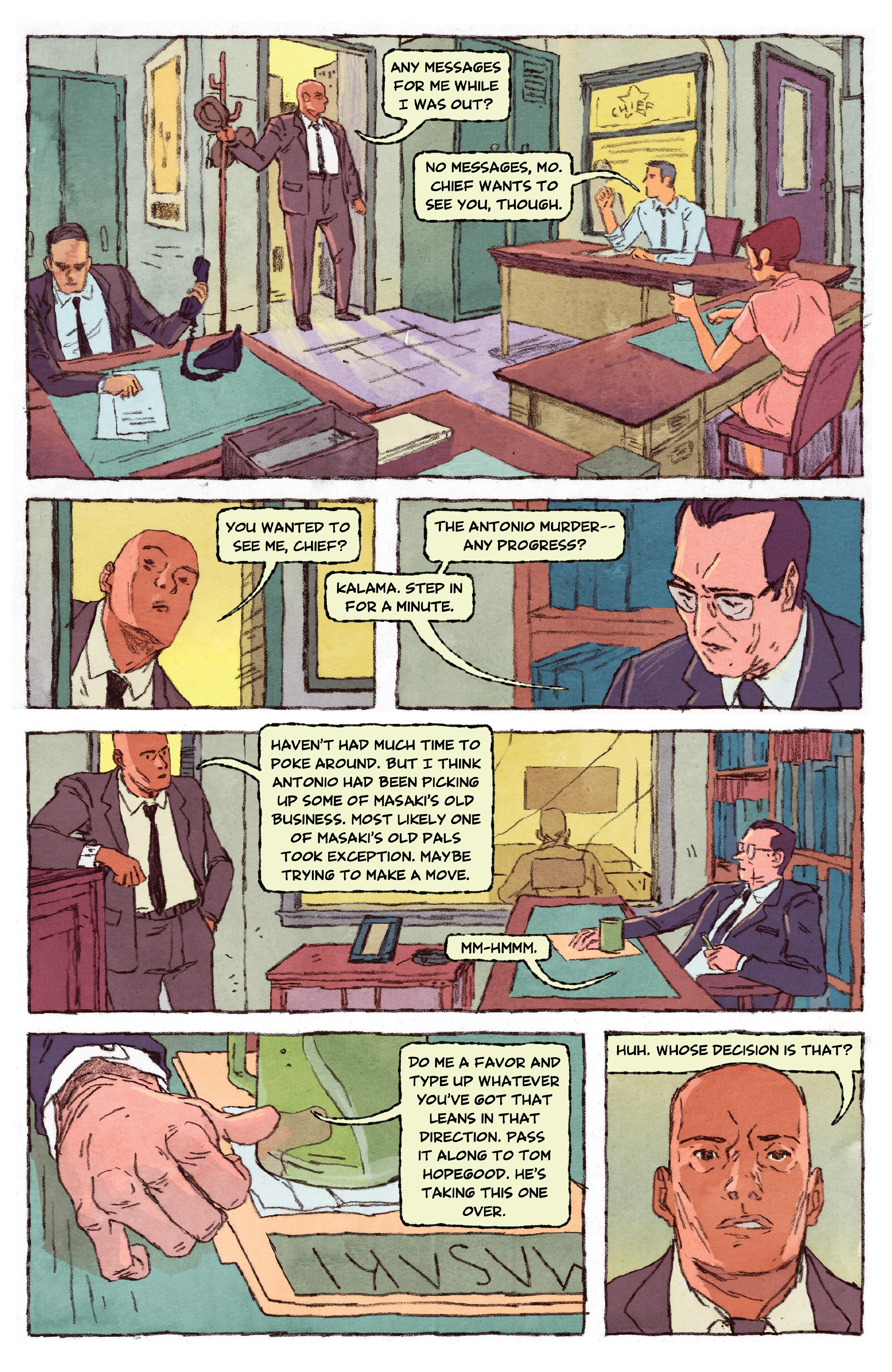 Read online Aloha, Hawaiian Dick comic -  Issue #3 - 12