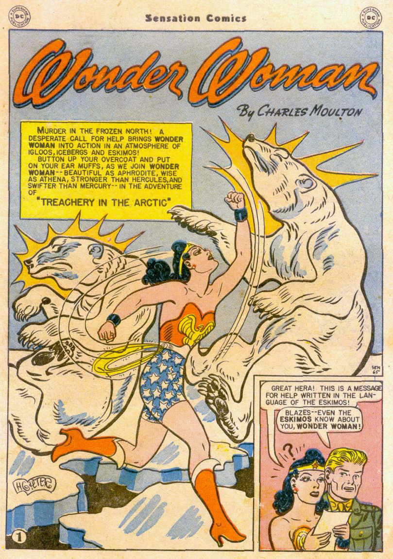Read online Sensation (Mystery) Comics comic -  Issue #65 - 2