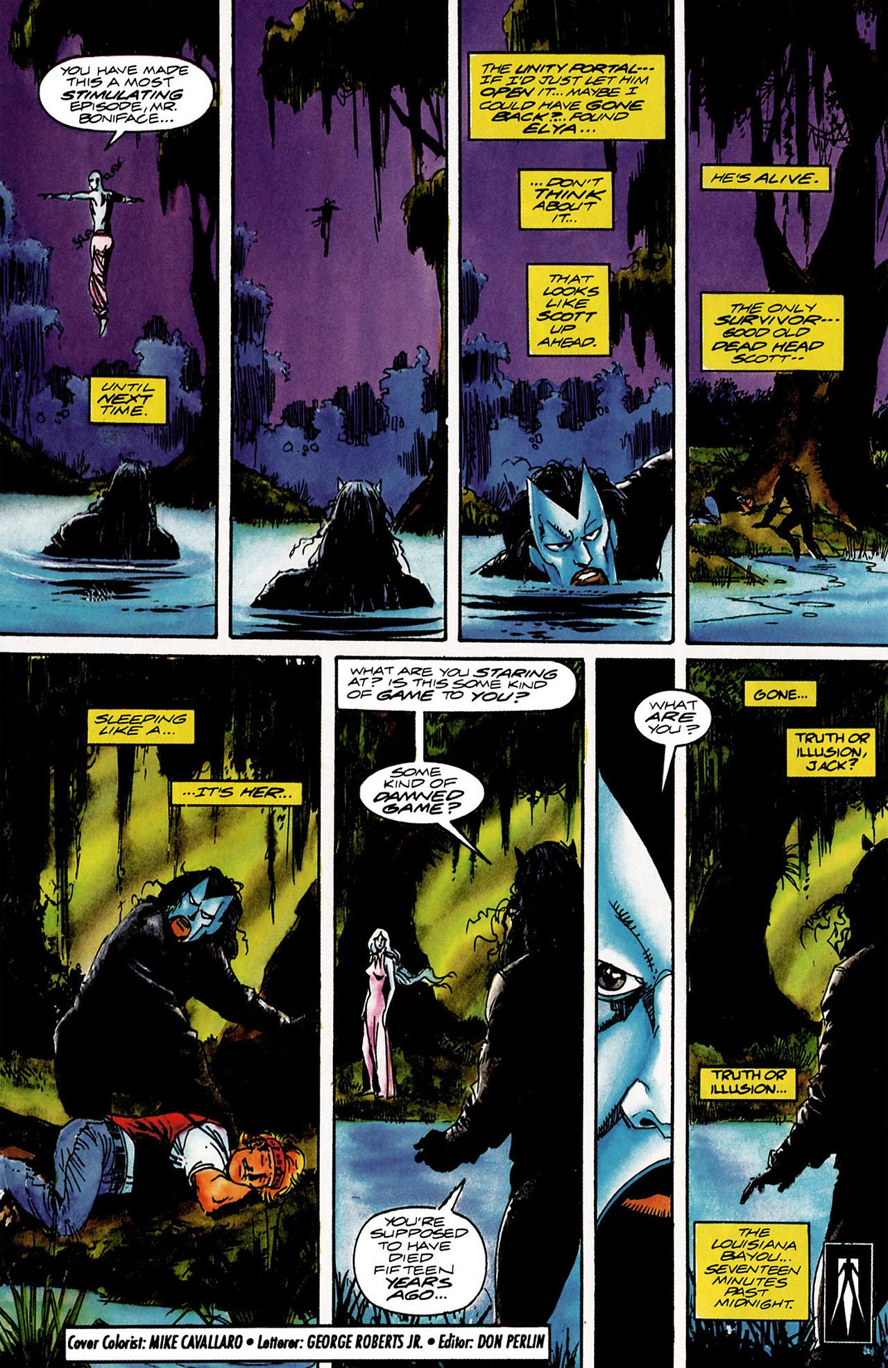 Read online Shadowman (1992) comic -  Issue #12 - 21