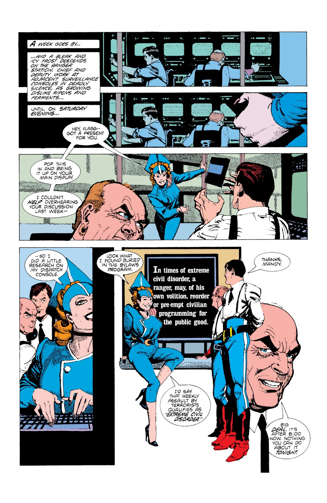 American Flagg! issue Definitive Collection (Part 1) - Page 46