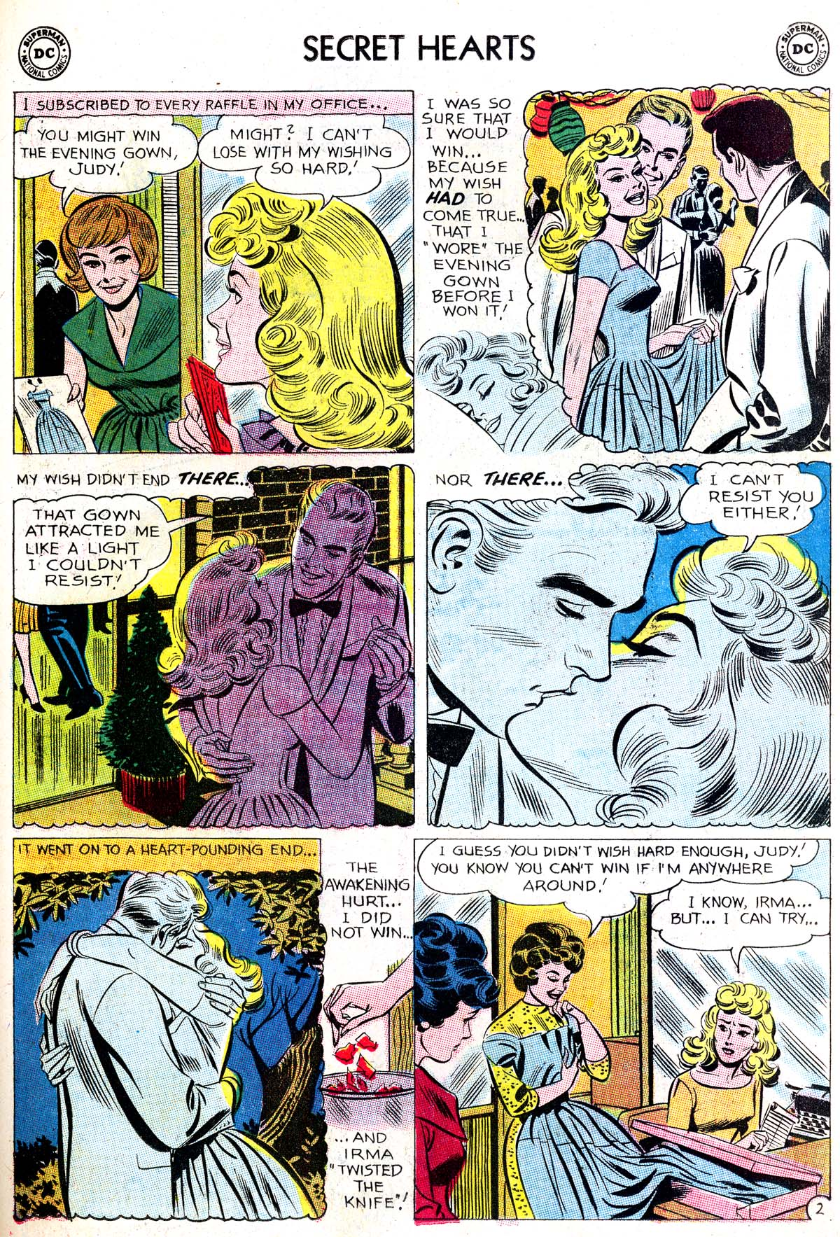 Read online Secret Hearts comic -  Issue #87 - 27