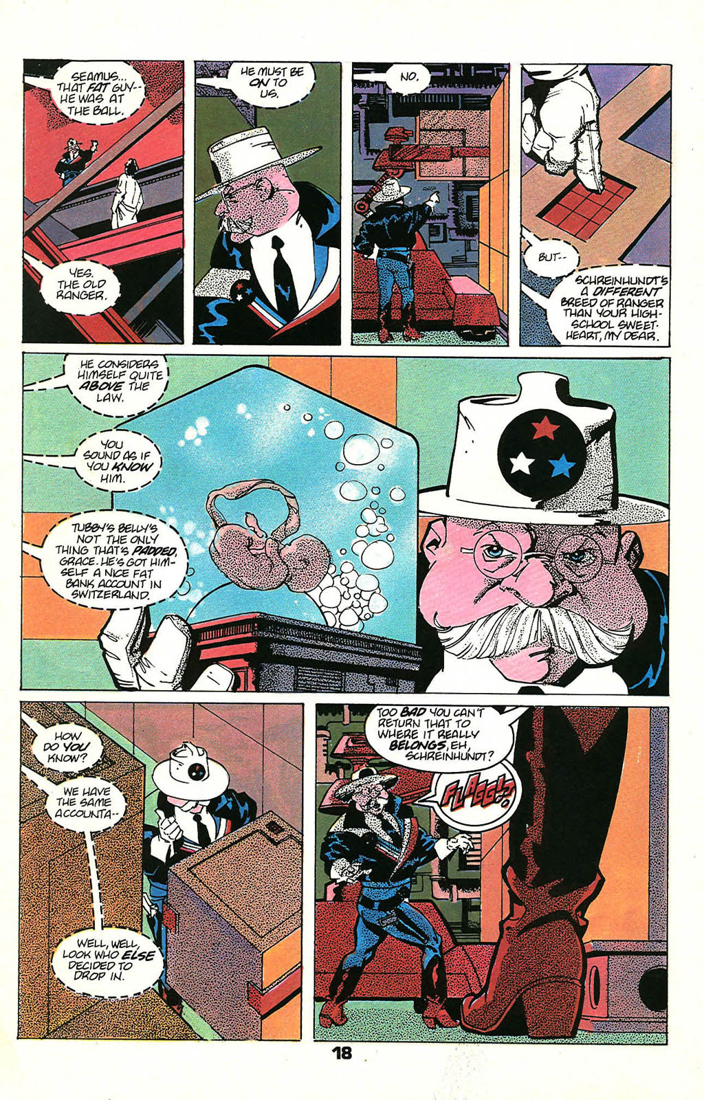 Read online American Flagg! comic -  Issue #48 - 24