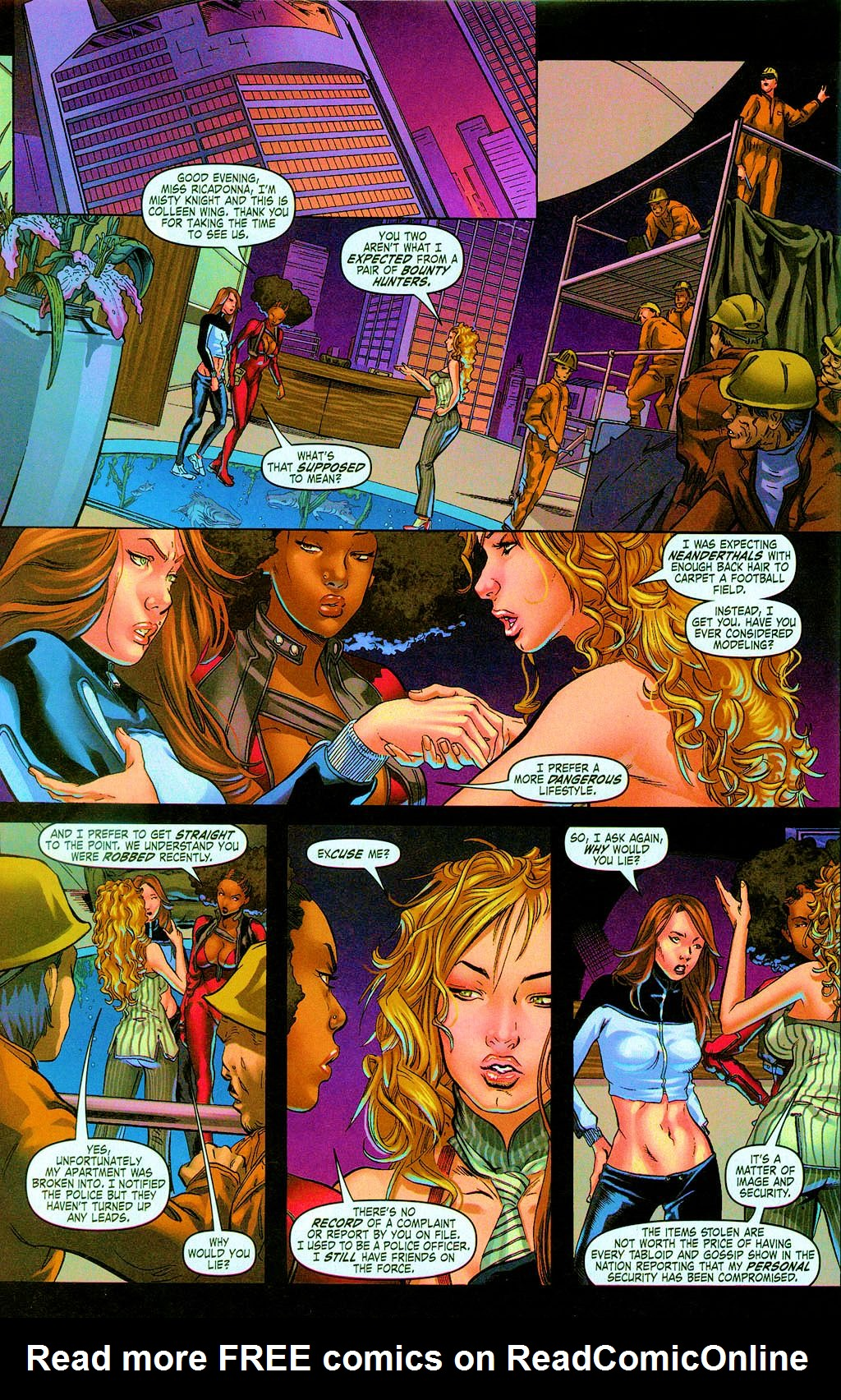 Read online Daughters of the Dragon comic -  Issue #3 - 10