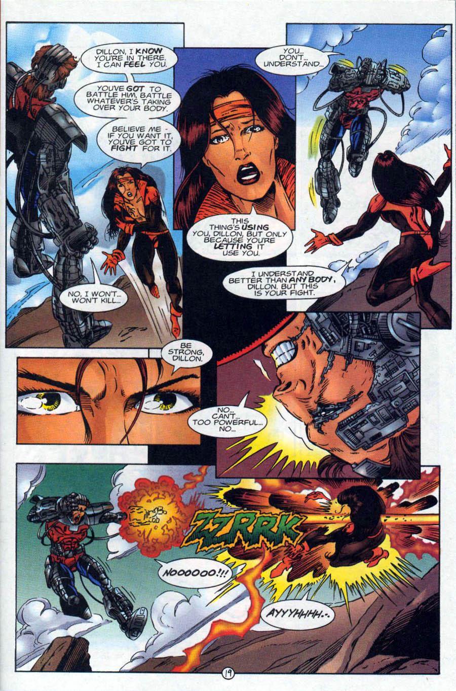 Read online Ex-Mutants comic -  Issue #18 - 19