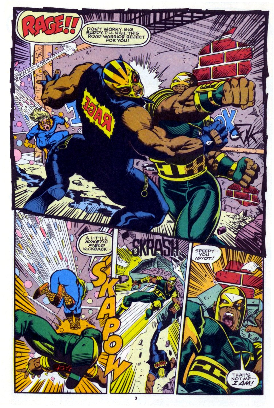 The New Warriors Issue #27 #31 - English 4