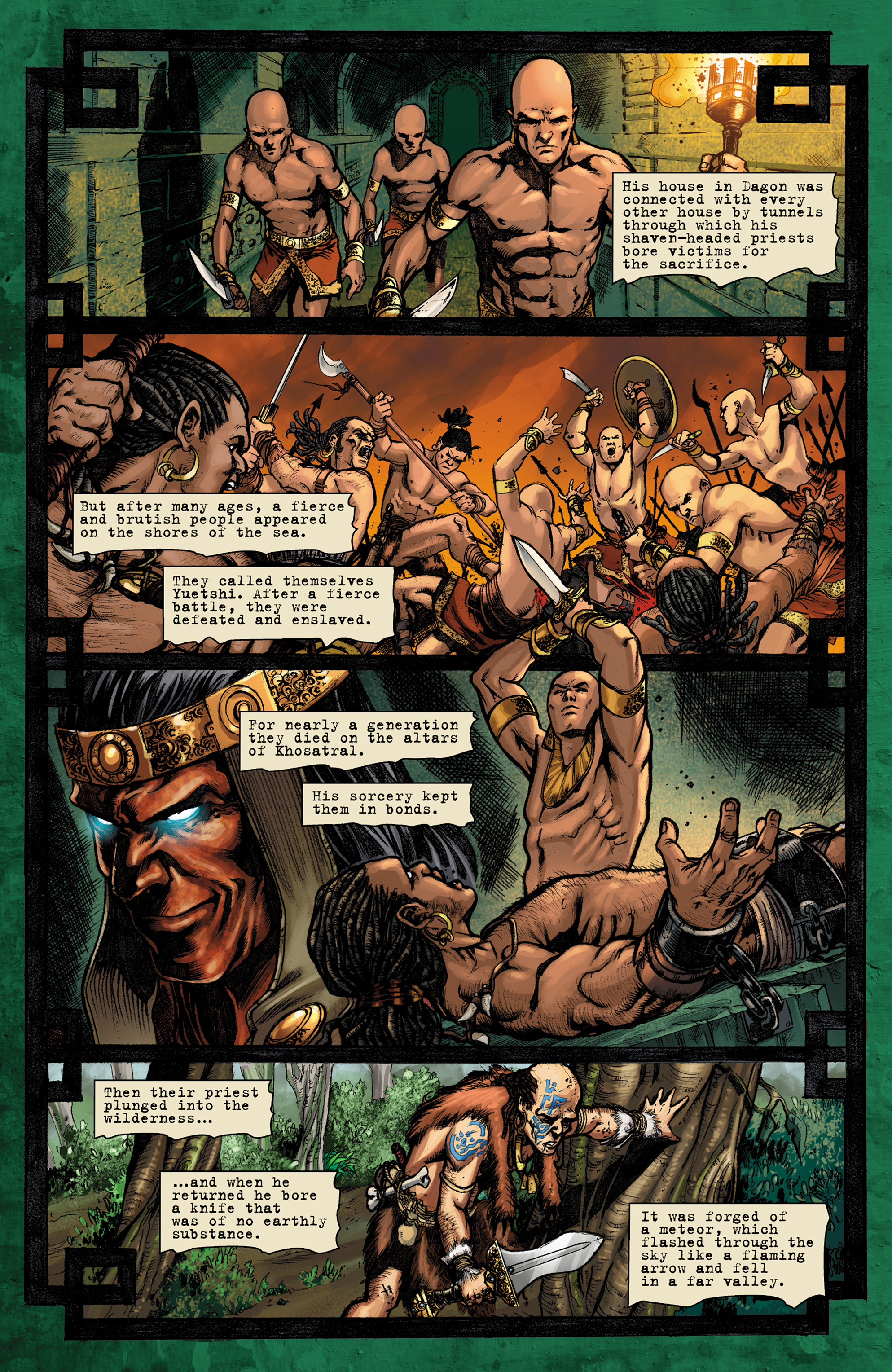 Read online Conan The Slayer comic -  Issue #9 - 17
