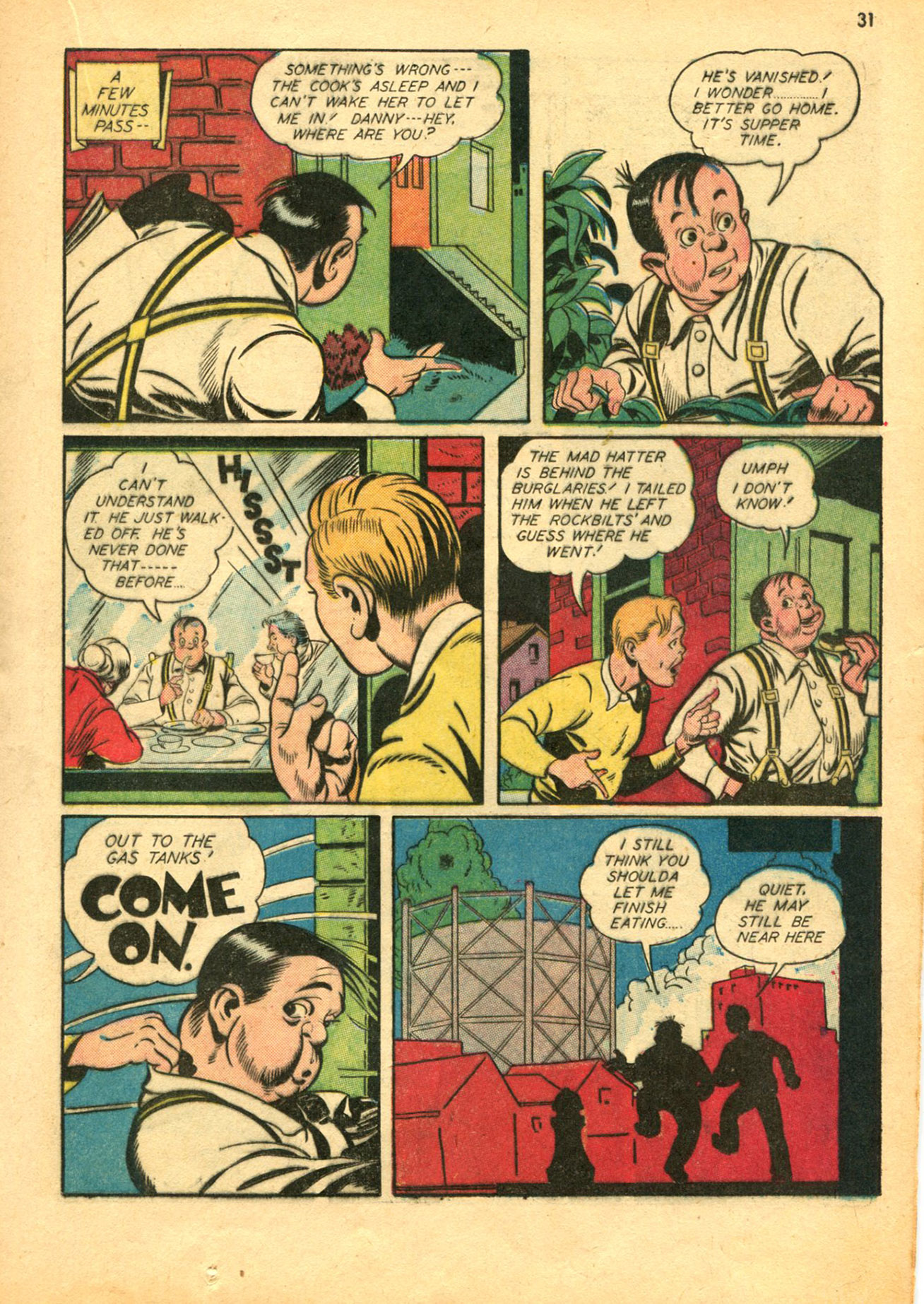 Read online Shadow Comics comic -  Issue #30 - 31