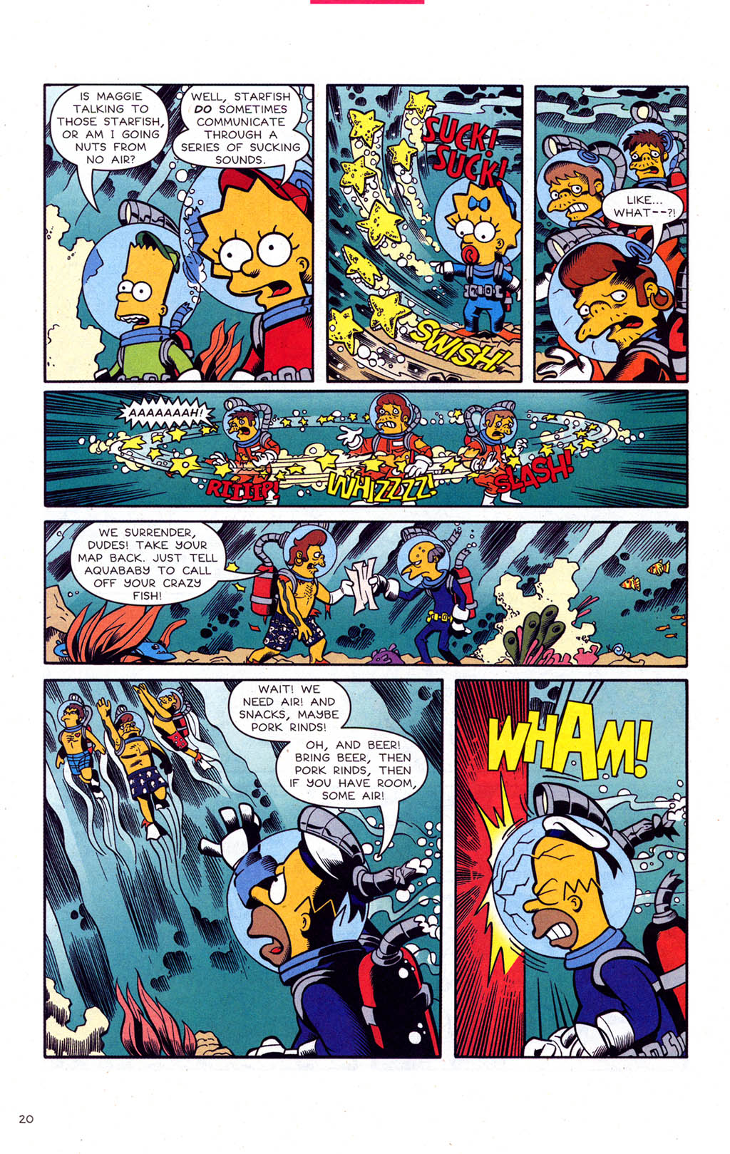Read online Simpsons Comics comic -  Issue #102 - 21