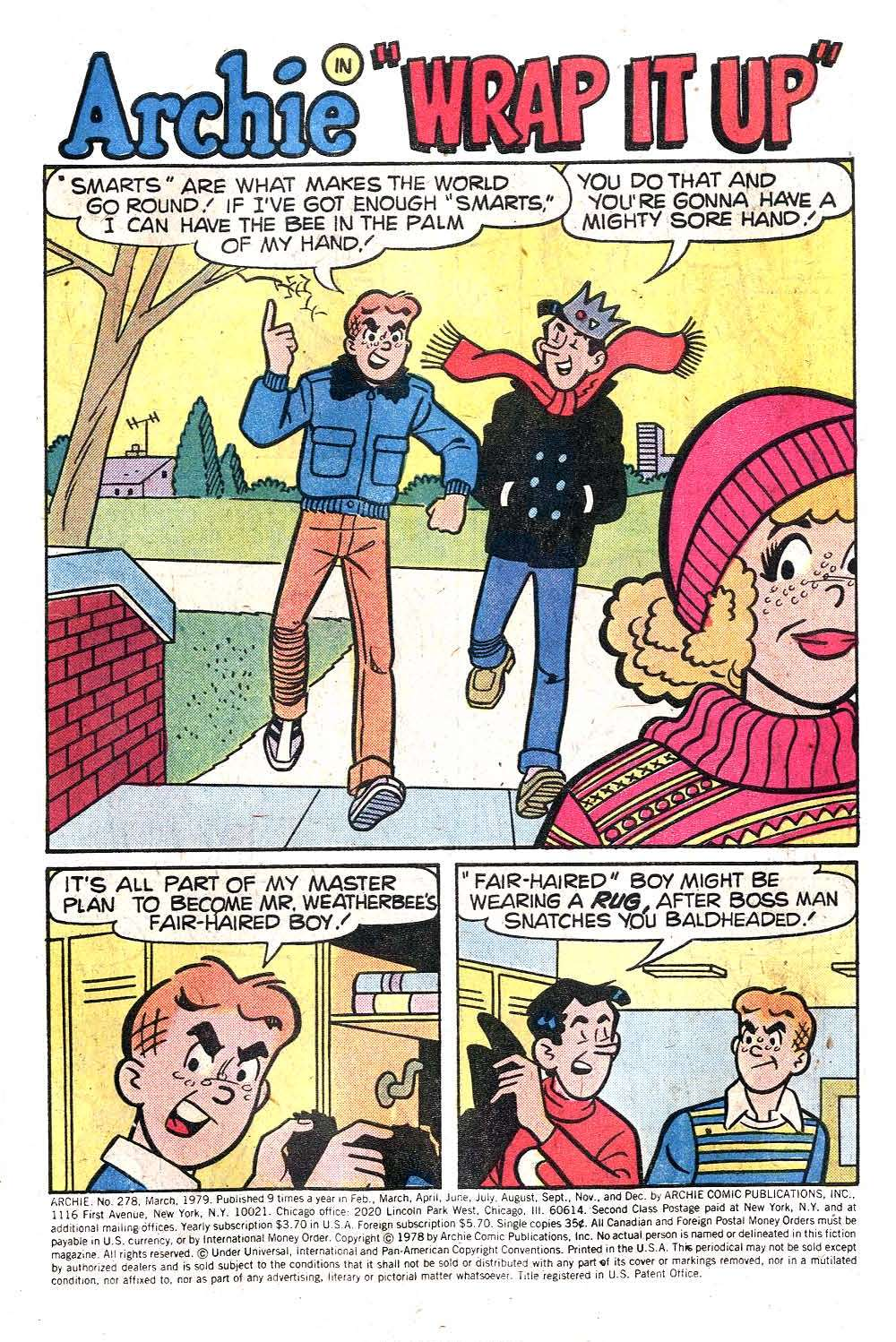 Read online Archie (1960) comic -  Issue #278 - 3