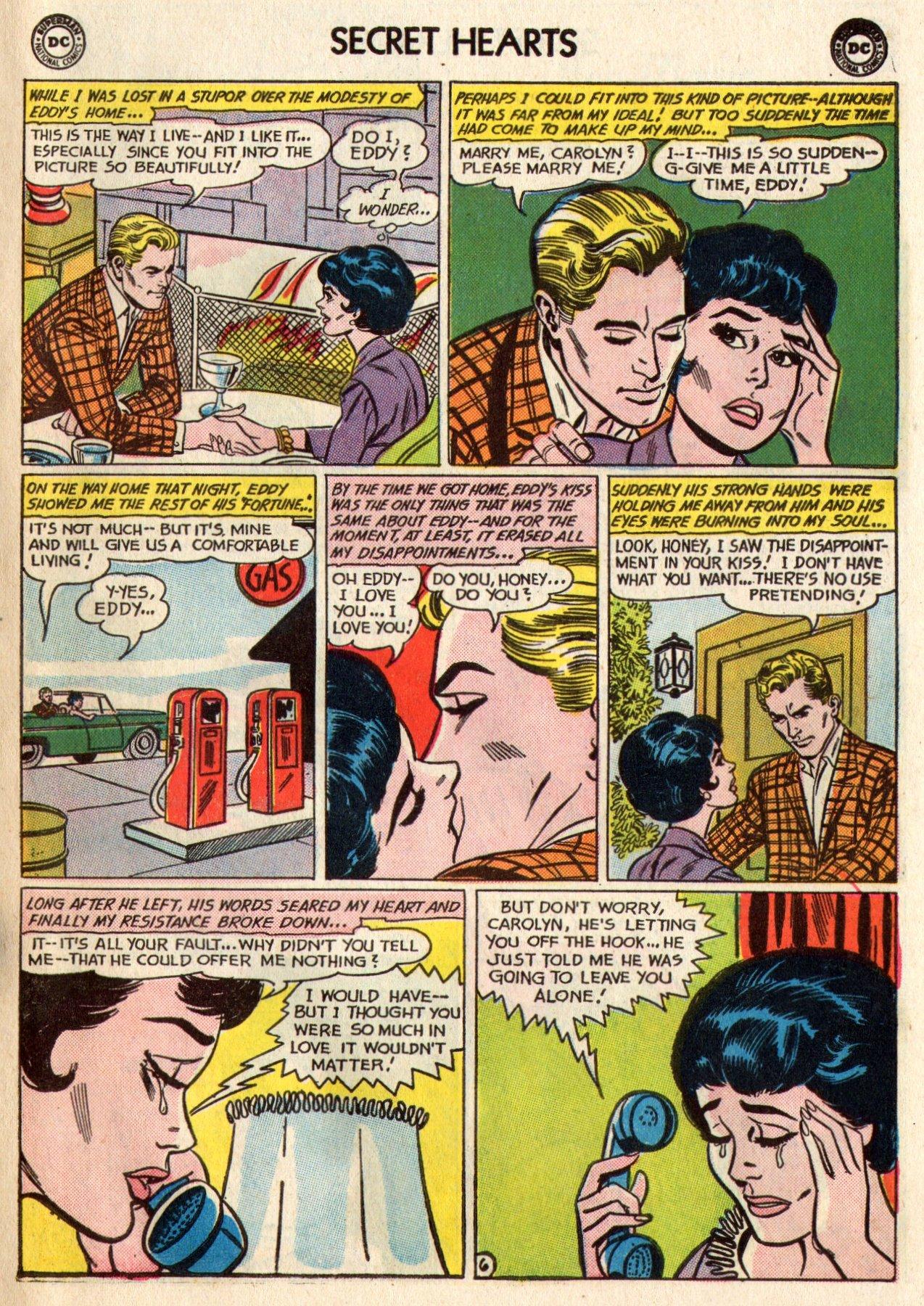 Read online Secret Hearts comic -  Issue #95 - 23