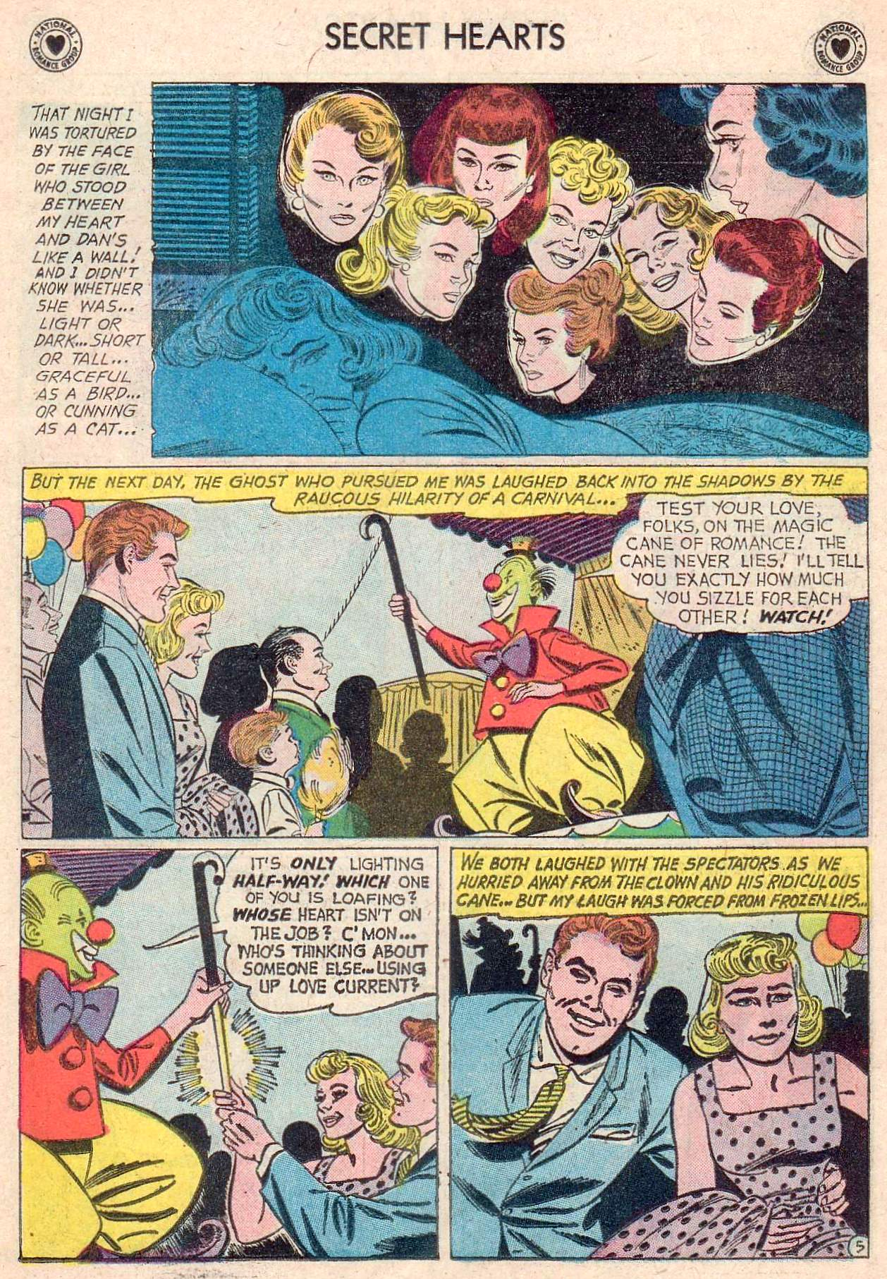 Read online Secret Hearts comic -  Issue #67 - 31