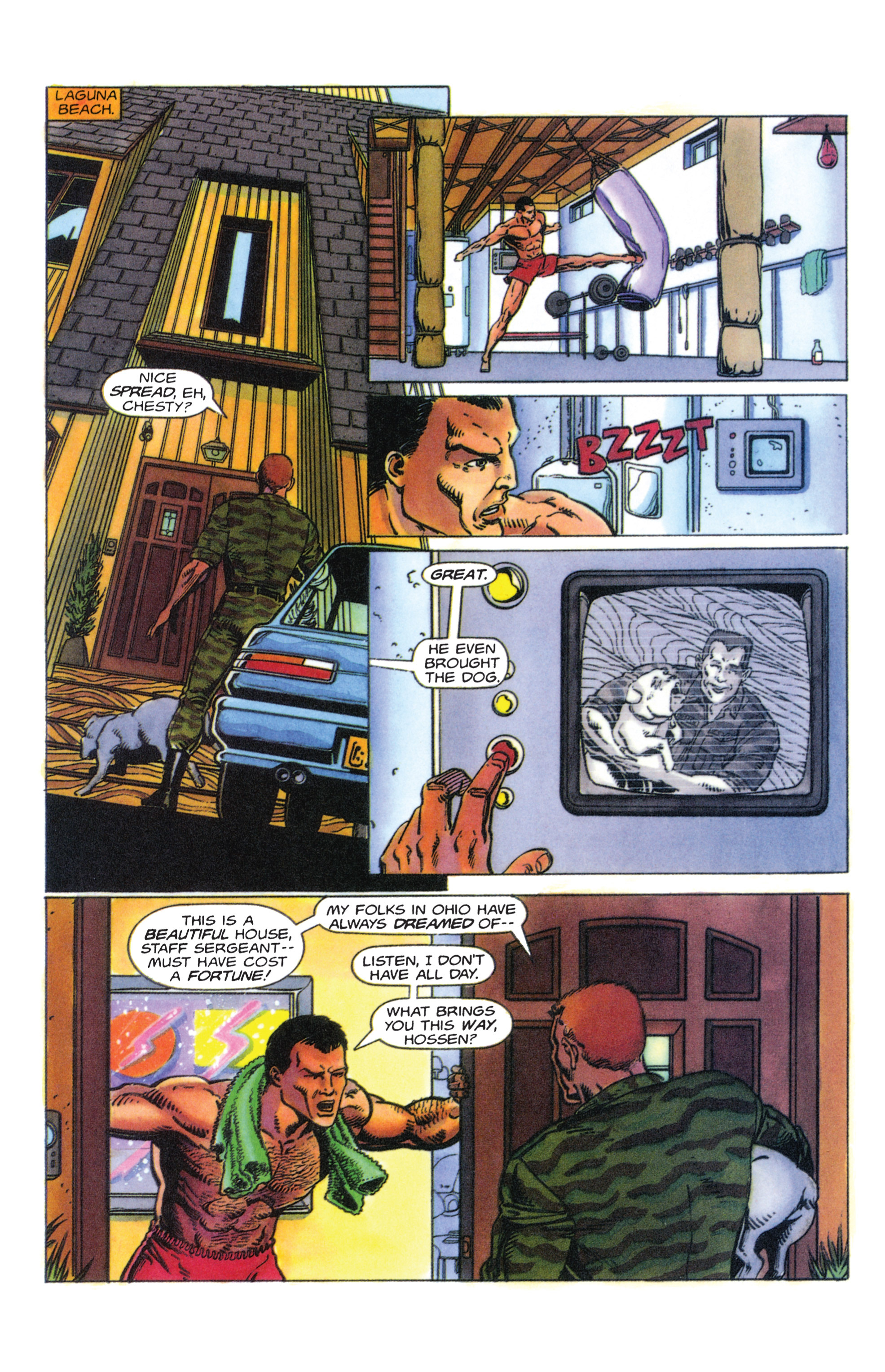 Read online Armorines comic -  Issue #4 - 15