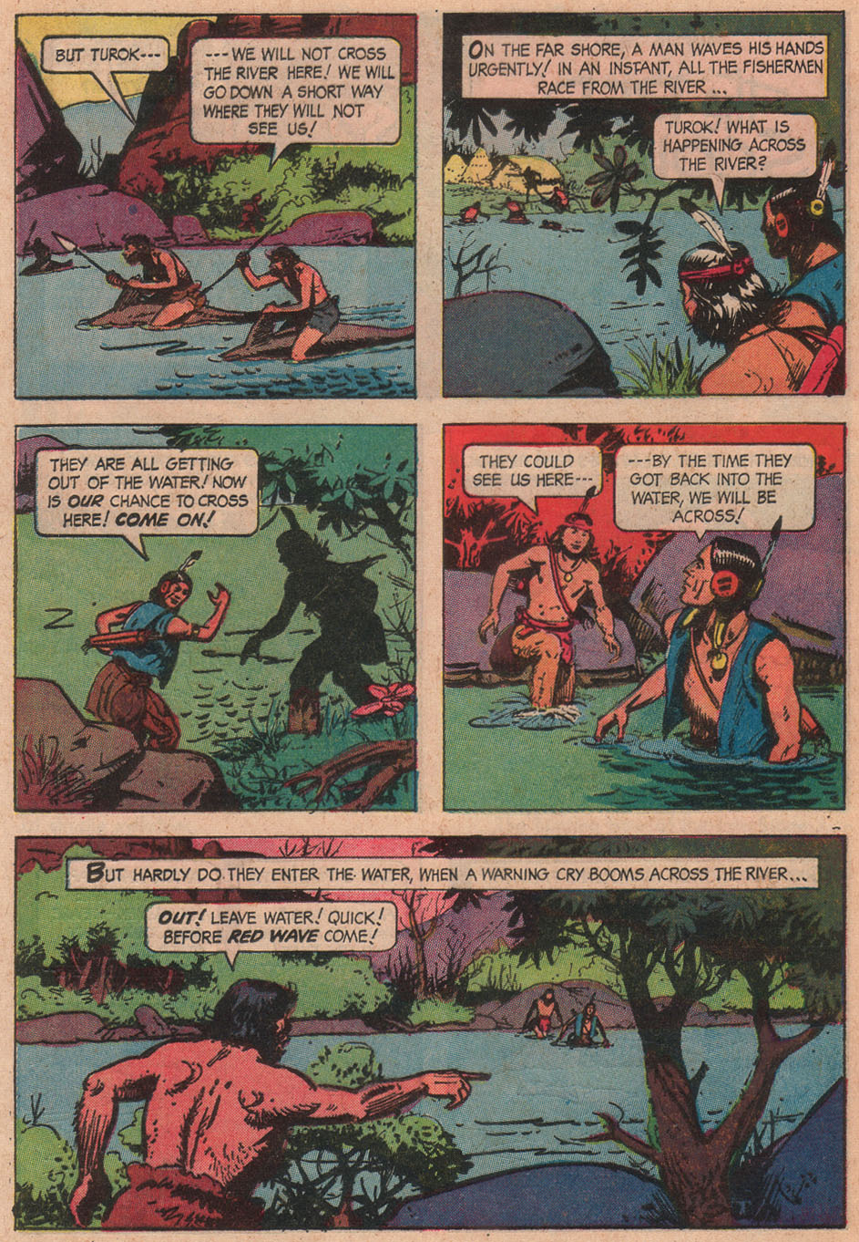 Read online Turok, Son of Stone comic -  Issue #51 - 24