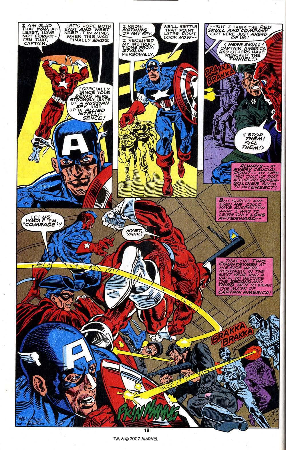 Read online Captain America (1968) comic -  Issue # _Annual 13 - 20