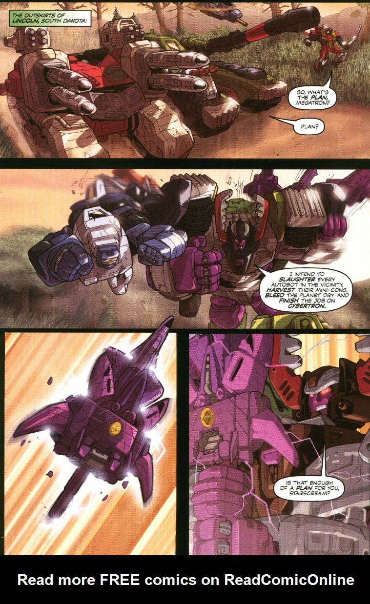 Read online Transformers Armada comic -  Issue #7 - 9