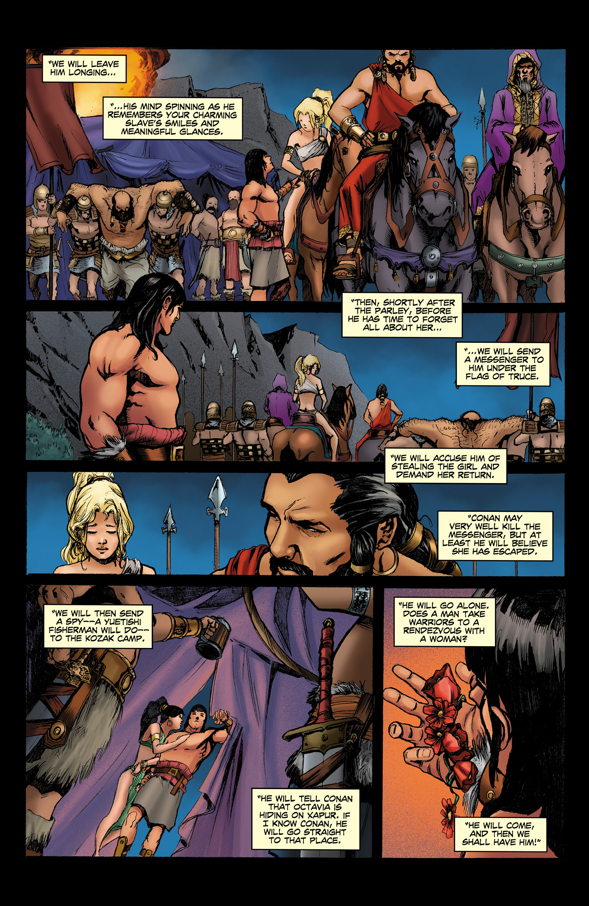 Read online Conan The Slayer comic -  Issue #8 - 16