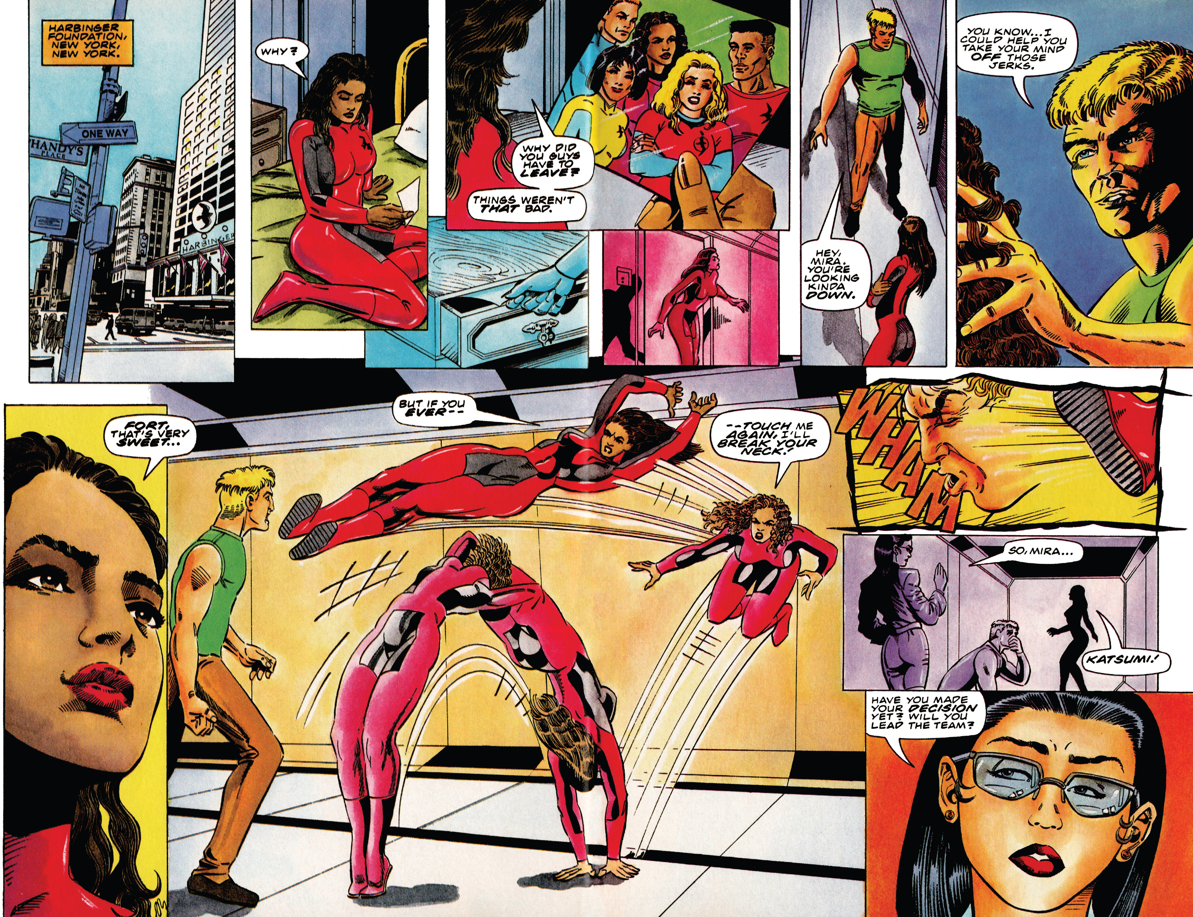 Read online Harbinger (1992) comic -  Issue #41 - 7
