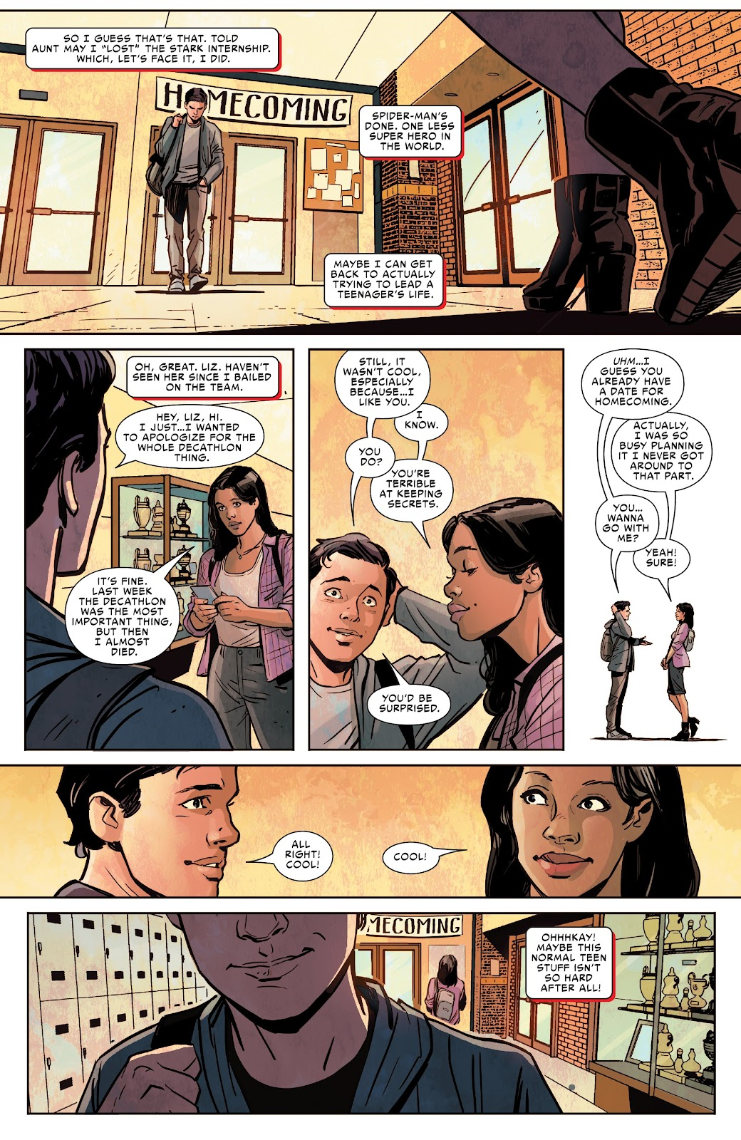 Read online Spider-Man: Far From Home Prelude comic -  Issue #2 - 14
