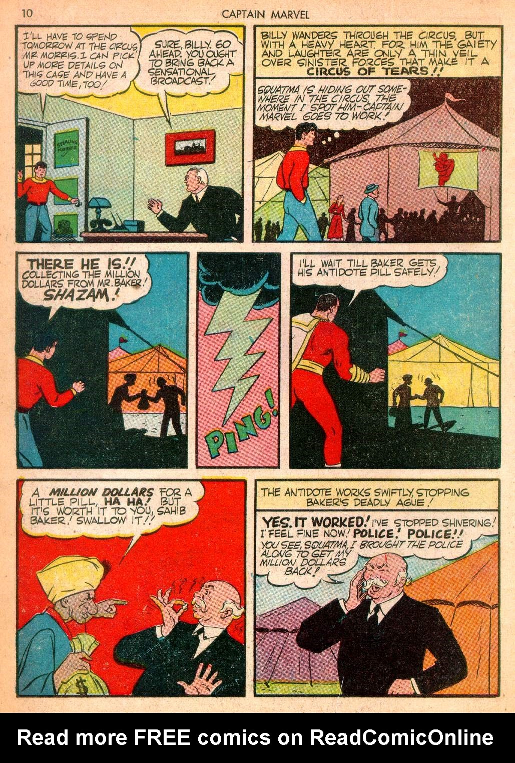 Captain Marvel Adventures issue 10 - Page 10