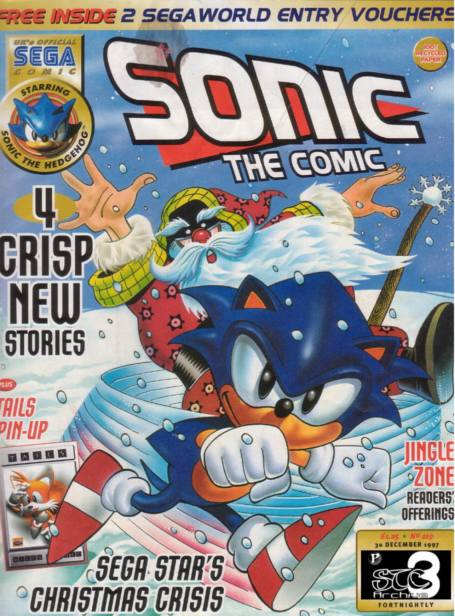 Read online Sonic the Comic comic -  Issue #119 - 1