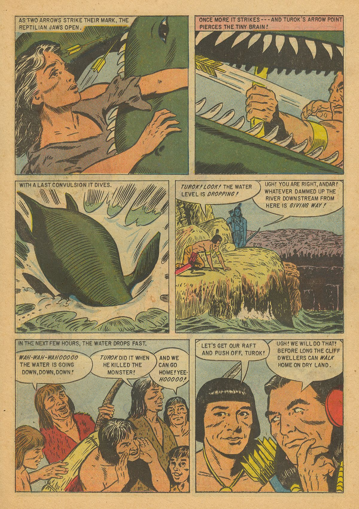 Read online Turok, Son of Stone comic -  Issue #8 - 15