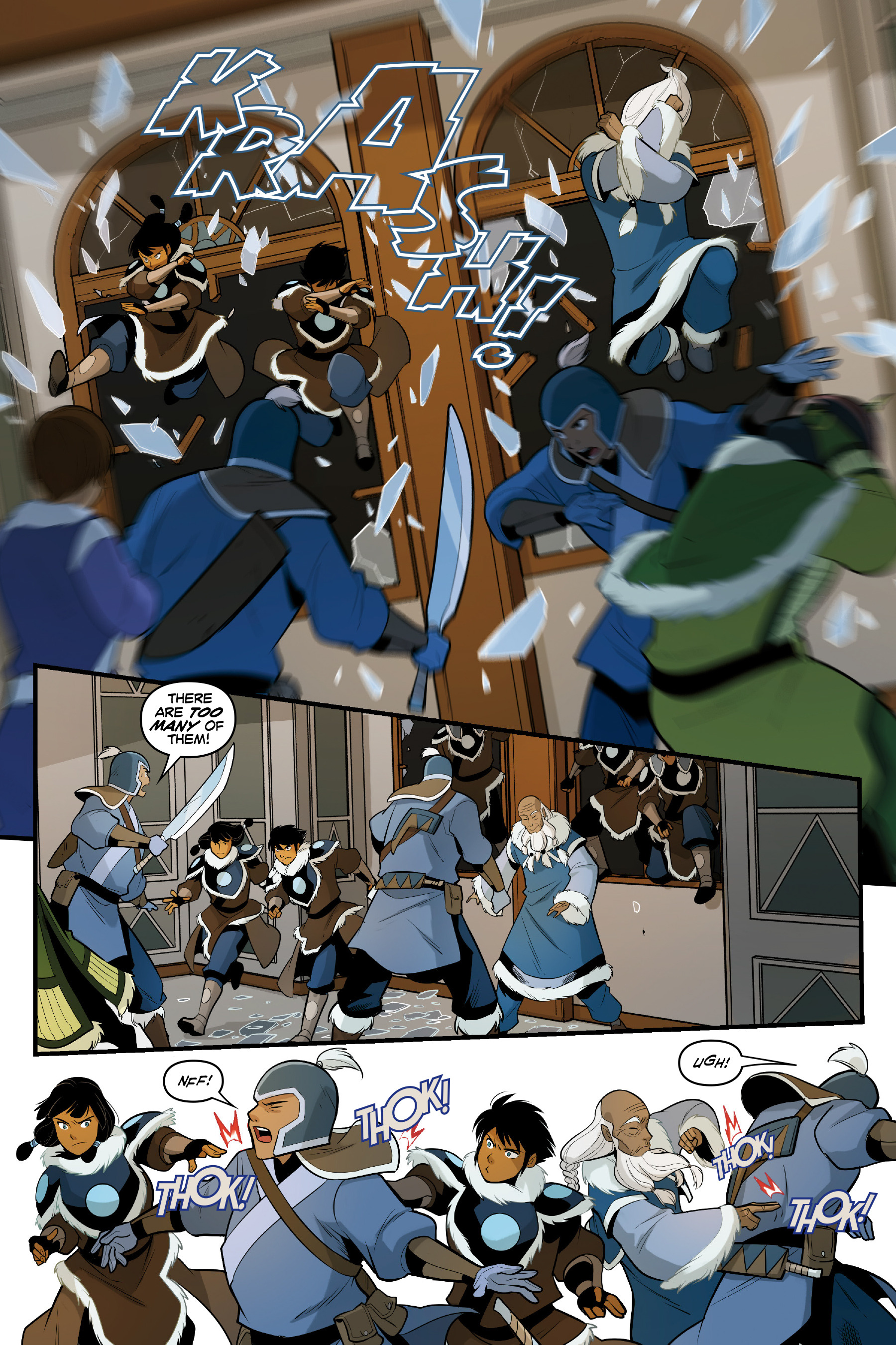 Read online Nickelodeon Avatar: The Last Airbender - North and South comic -  Issue #3 - 31
