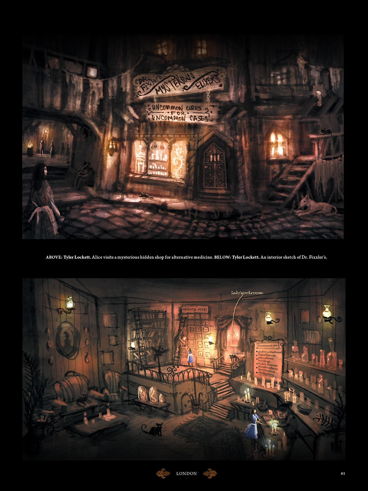 Read online The Art of Alice: Madness Returns comic -  Issue # TPB (Part 1) - 57